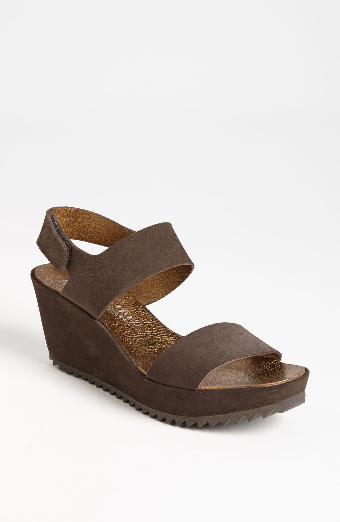 Alternate Image 1 Selected - Pedro Garcia 'Fiona' Wedge Sandal (Women)