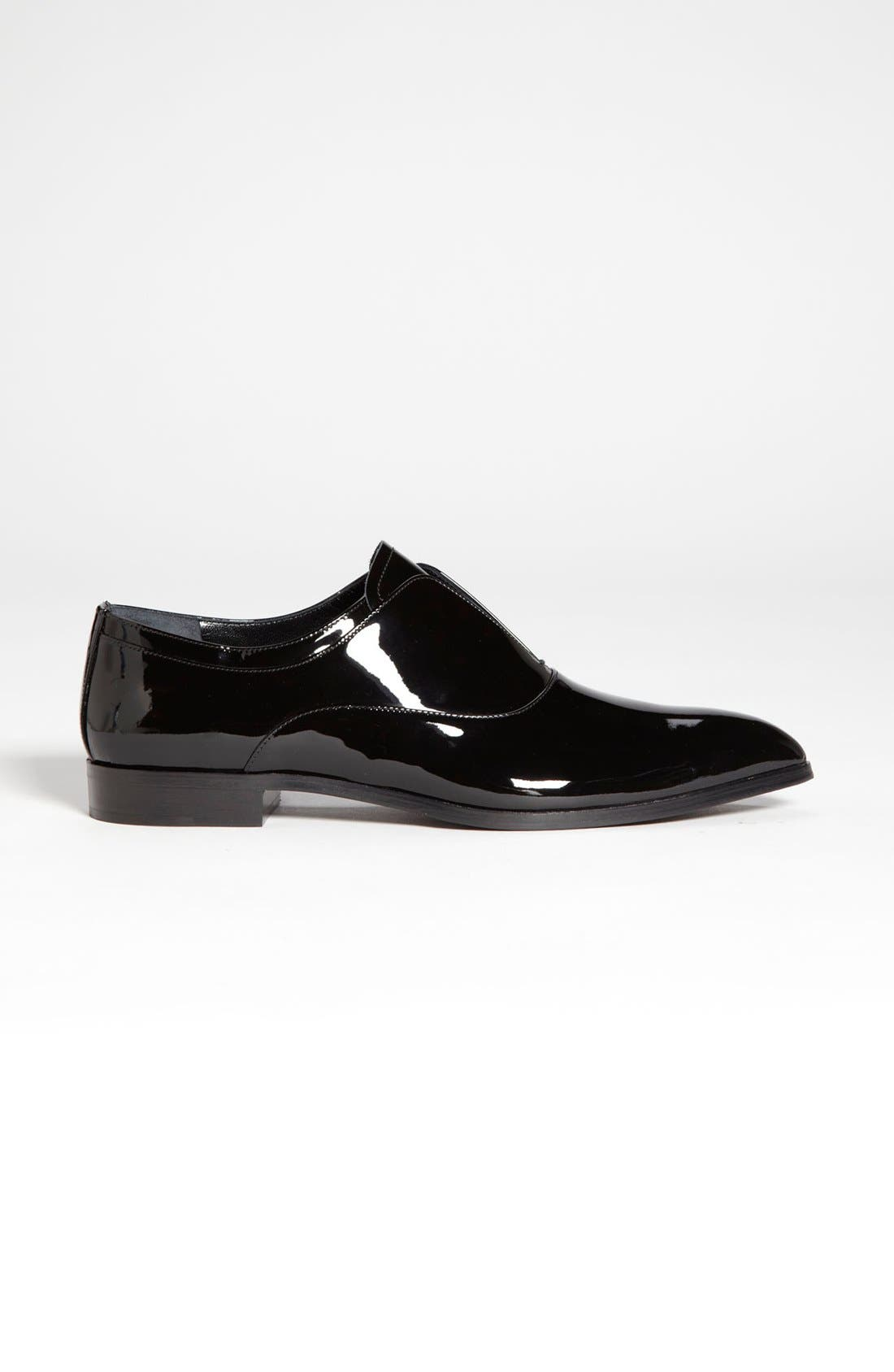 Alternate Image 4  - Prada Laceless Pointy Toe Oxford