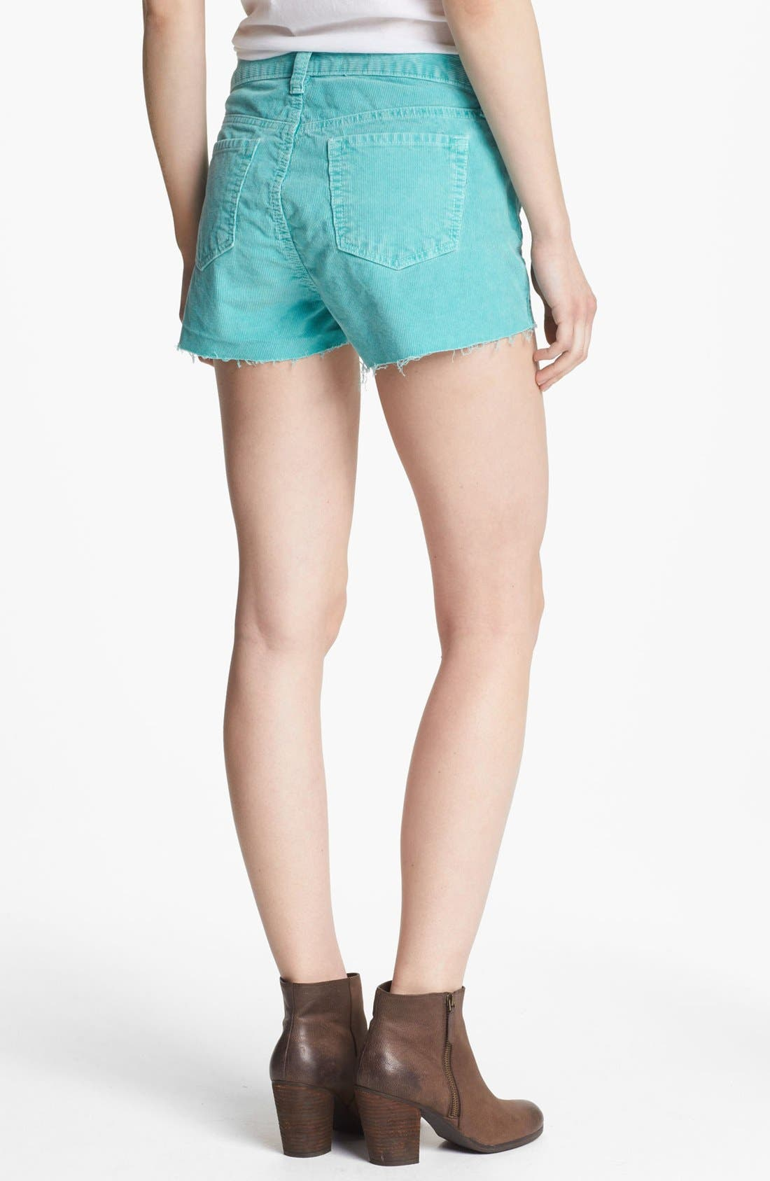 Alternate Image 2  - J Brand Cutoff Corduroy Shorts