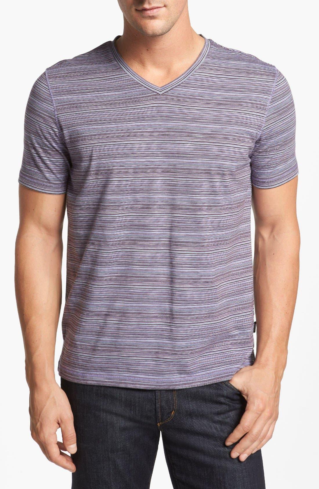 Alternate Image 1 Selected - BOSS HUGO BOSS 'Canistro' V-Neck T-Shirt
