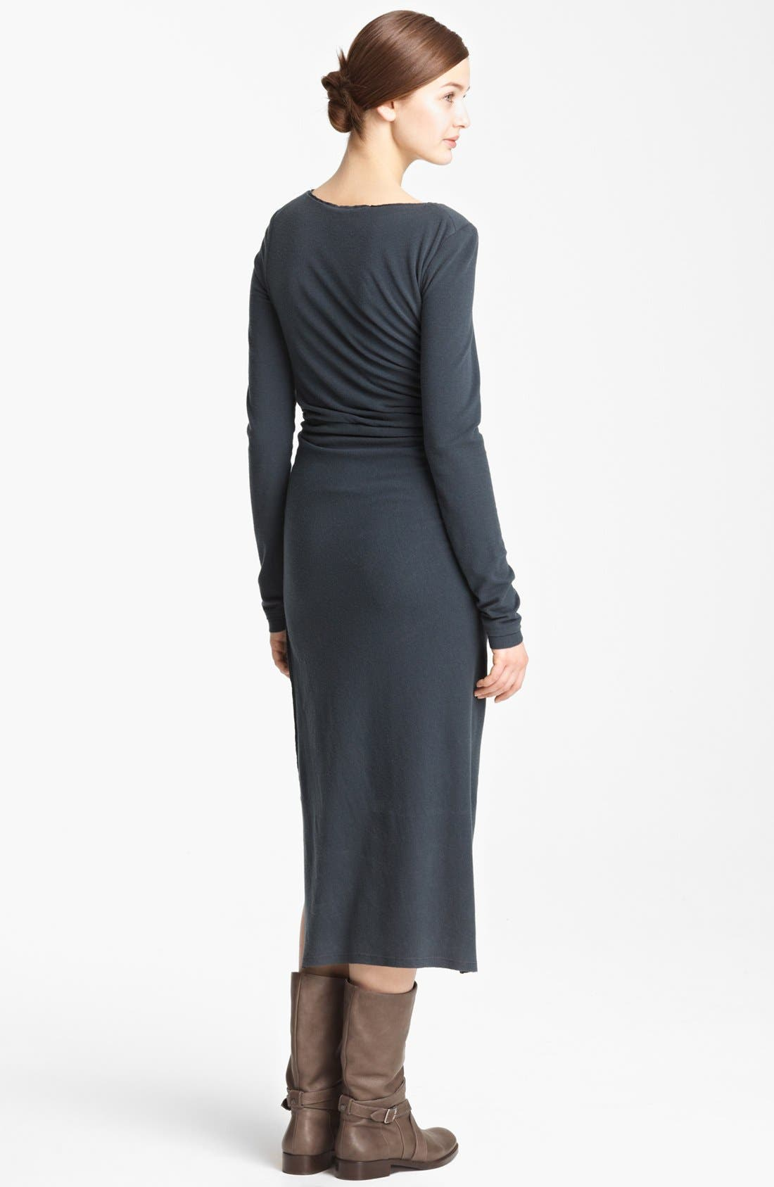 Alternate Image 2  - Donna Karan Collection Cross Draped Knot Dress