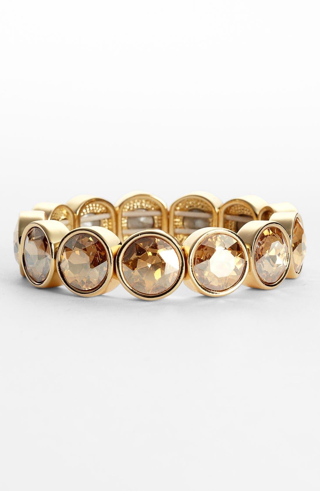 Alternate Image 1 Selected - Lydell NYC Crystal Stretch Bracelet