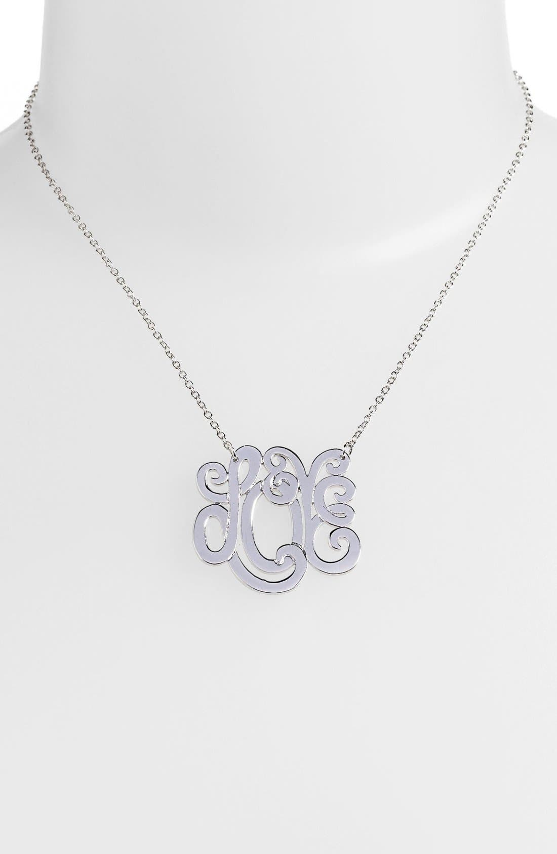 Alternate Image 2  - Ariella Collection 'Love' Pendant Necklace (Nordstrom Exclusive)
