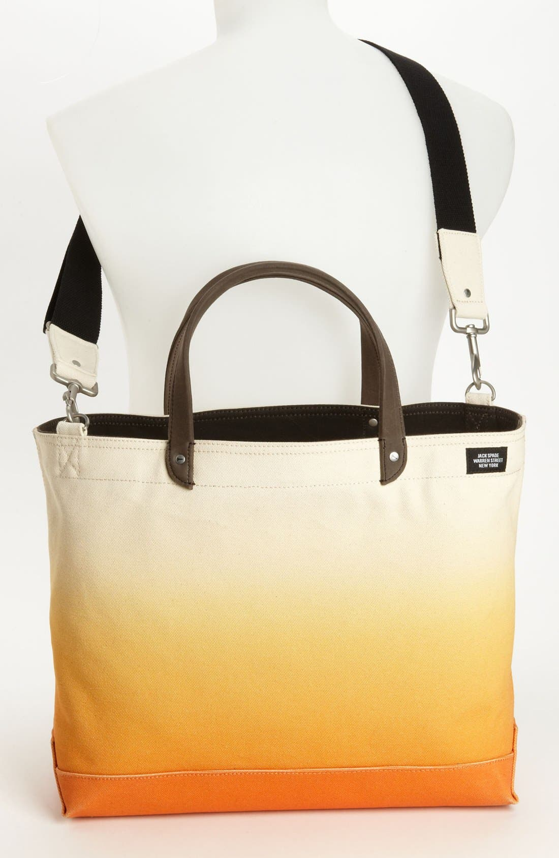 Alternate Image 4  - Jack Spade Zip Tote Bag