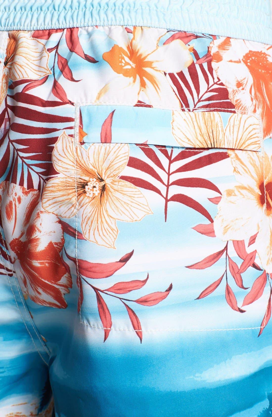 Alternate Image 3  - Tommy Bahama 'Waypoint to Paradise' Swim Trunks