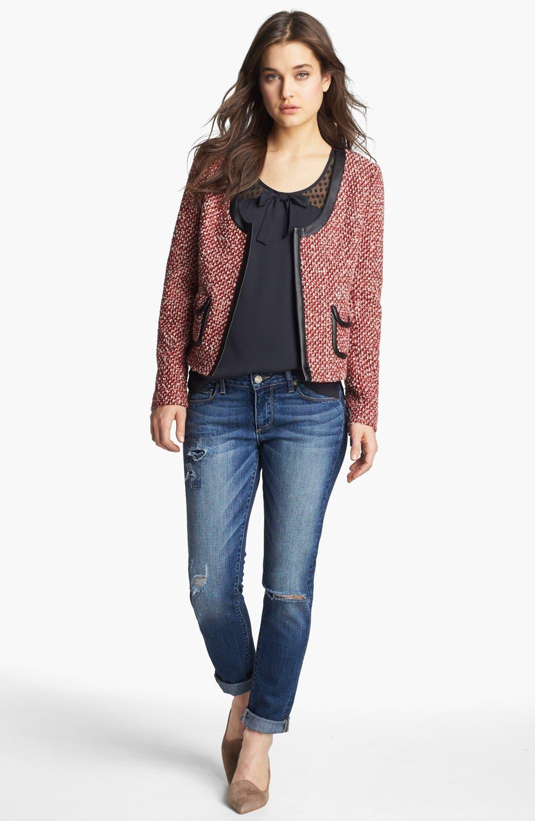 Alternate Image 5  - Hinge® Tweed Jacket