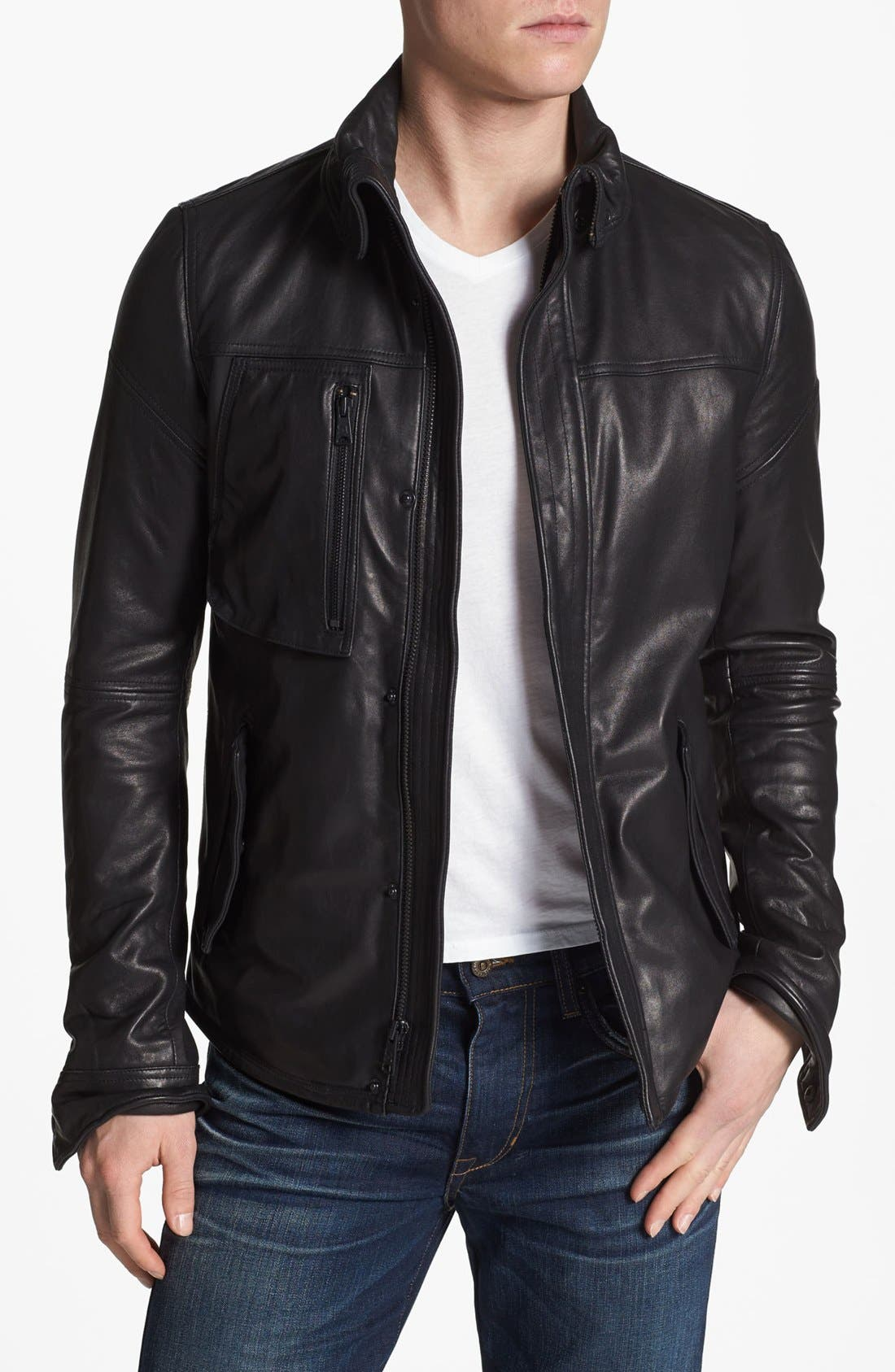 Alternate Image 1 Selected - Rogue Leather Jacket