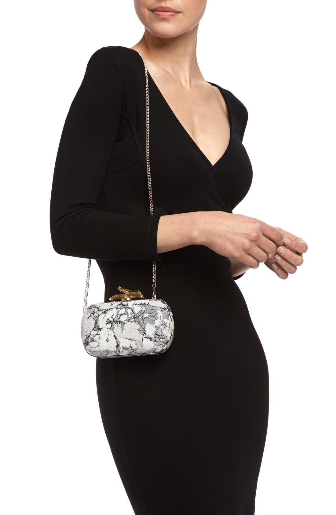 Alternate Image 2  - Diane von Furstenberg 'Lytton' Sequin Clutch
