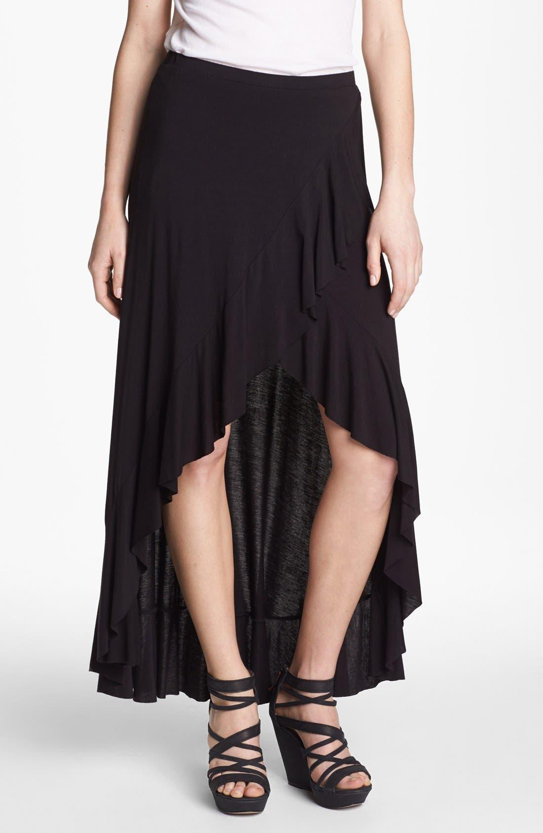 Main Image - Bailey 44 'Flamenco' High/Low Faux Wrap Maxi Skirt
