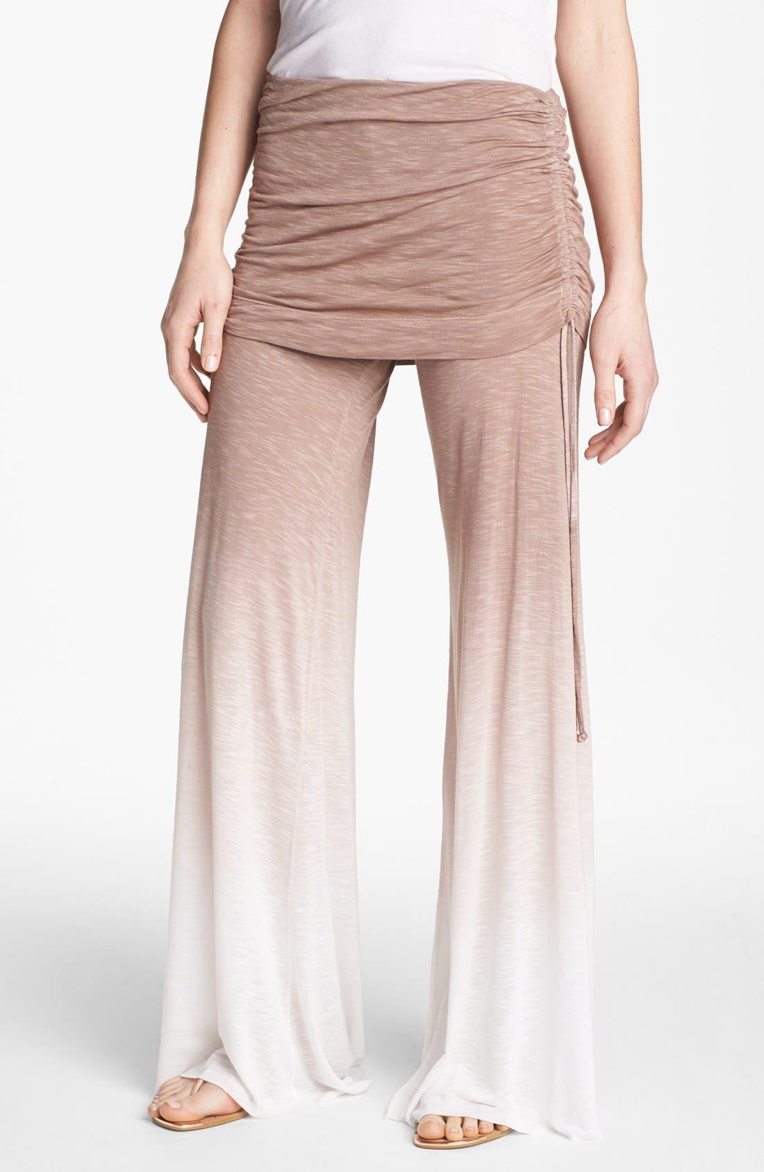 Main Image - Young, Fabulous & Broke 'Sierra' Ruched Wide Leg Pants