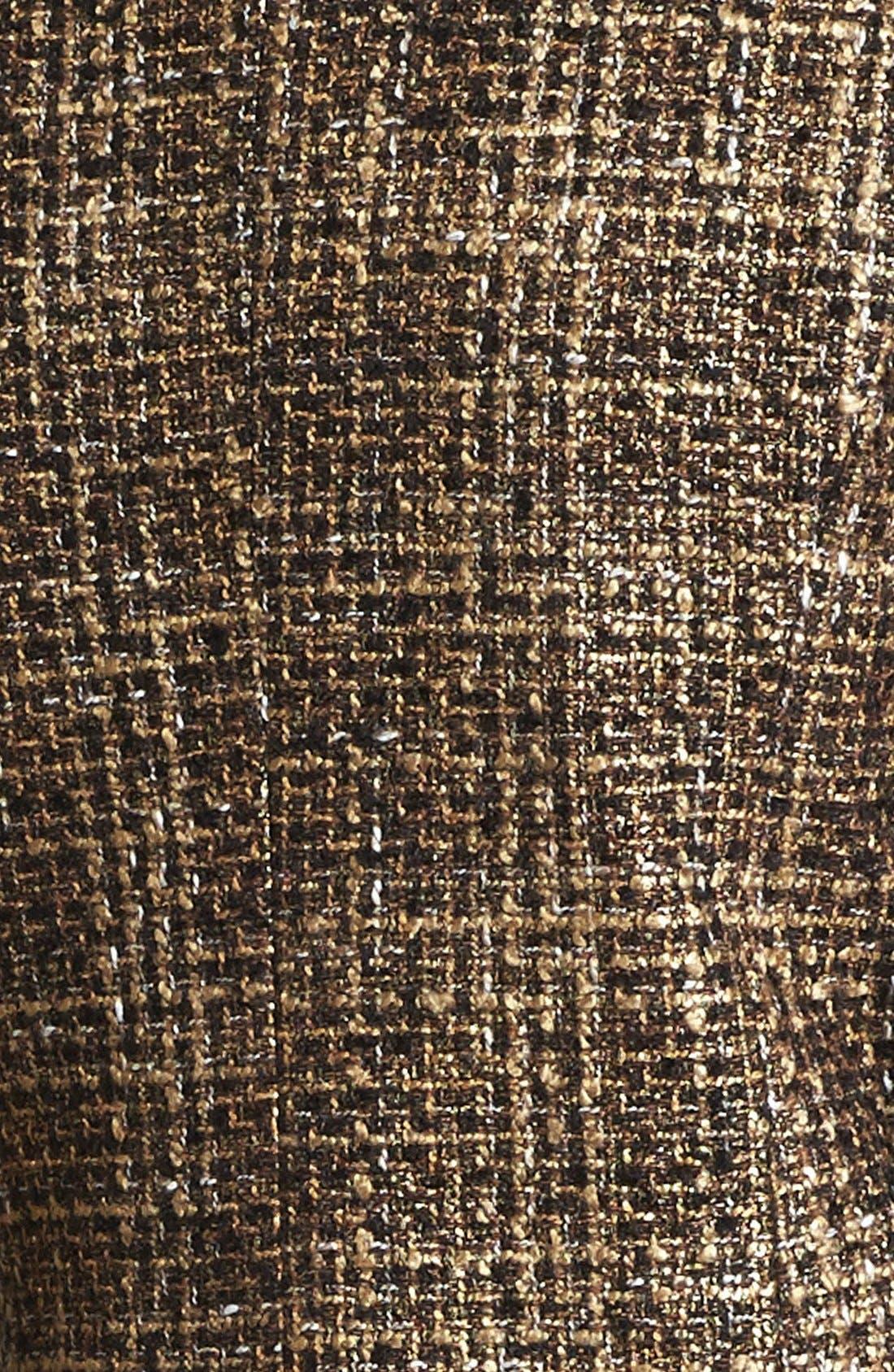 Alternate Image 3  - MICHAEL Michael Kors Plaid Tweed Jacket
