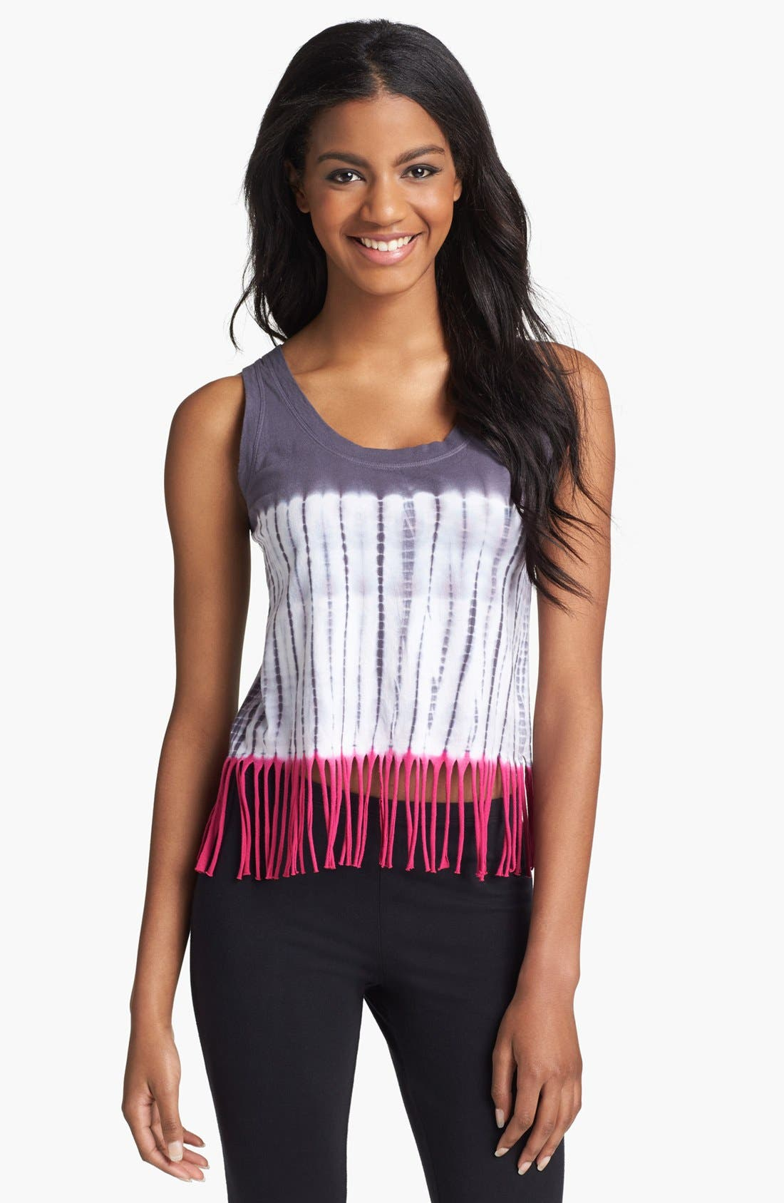 Alternate Image 1 Selected - Steve Madden 'Todyefor' Fringe Tank