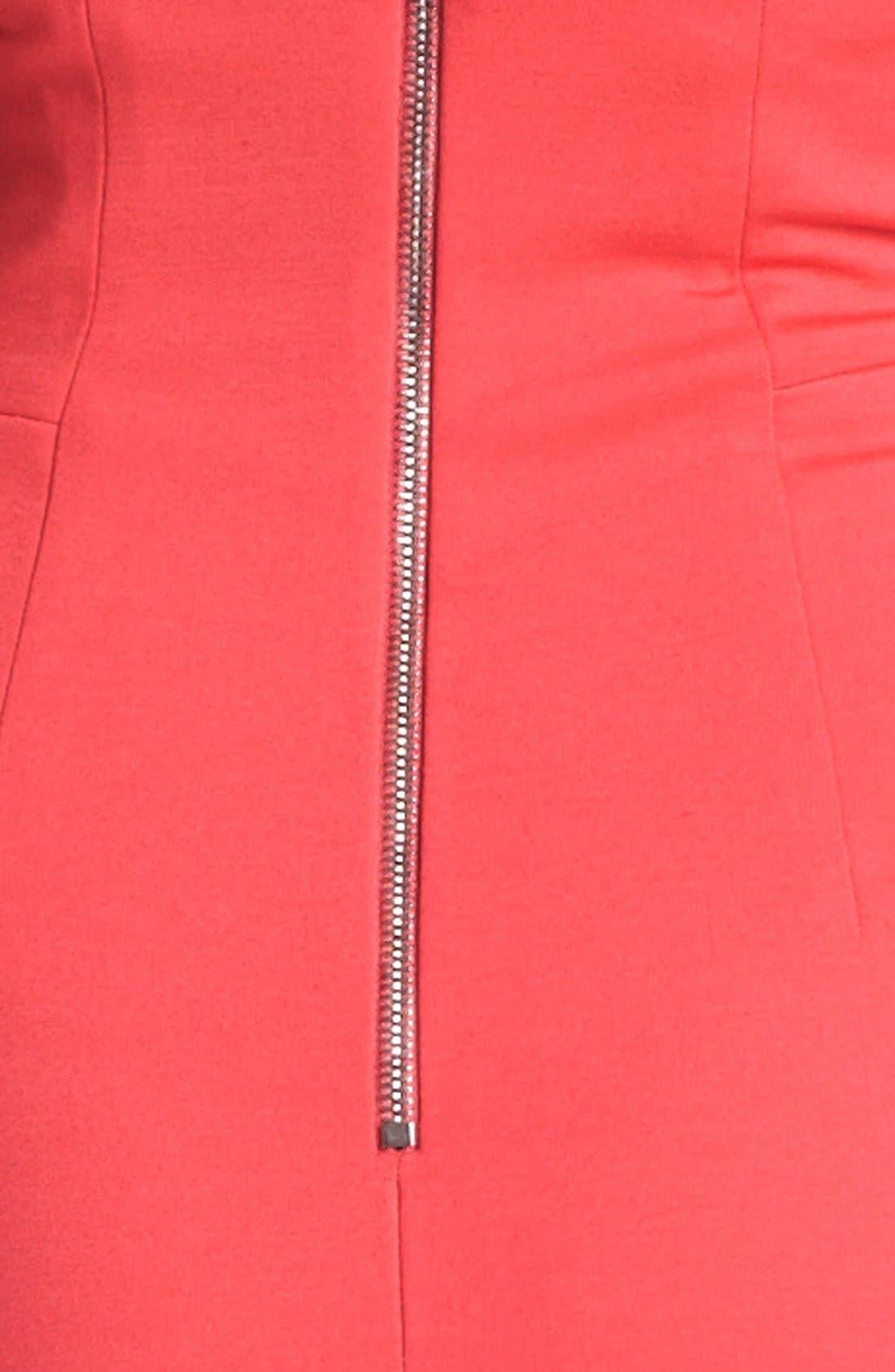 Alternate Image 3  - ERIN erin fetherston Ponte Knit Halter Dress