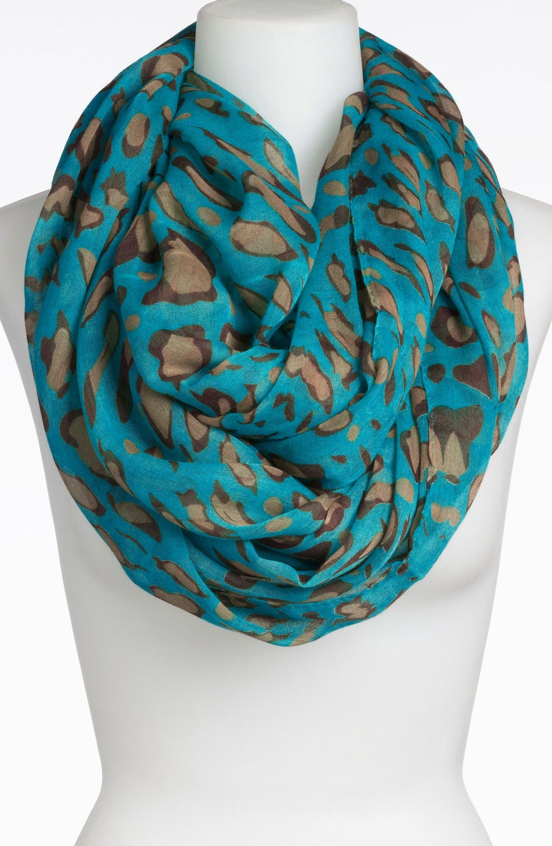 Alternate Image 1 Selected - Tasha Spotted Leopard Infinity Scarf