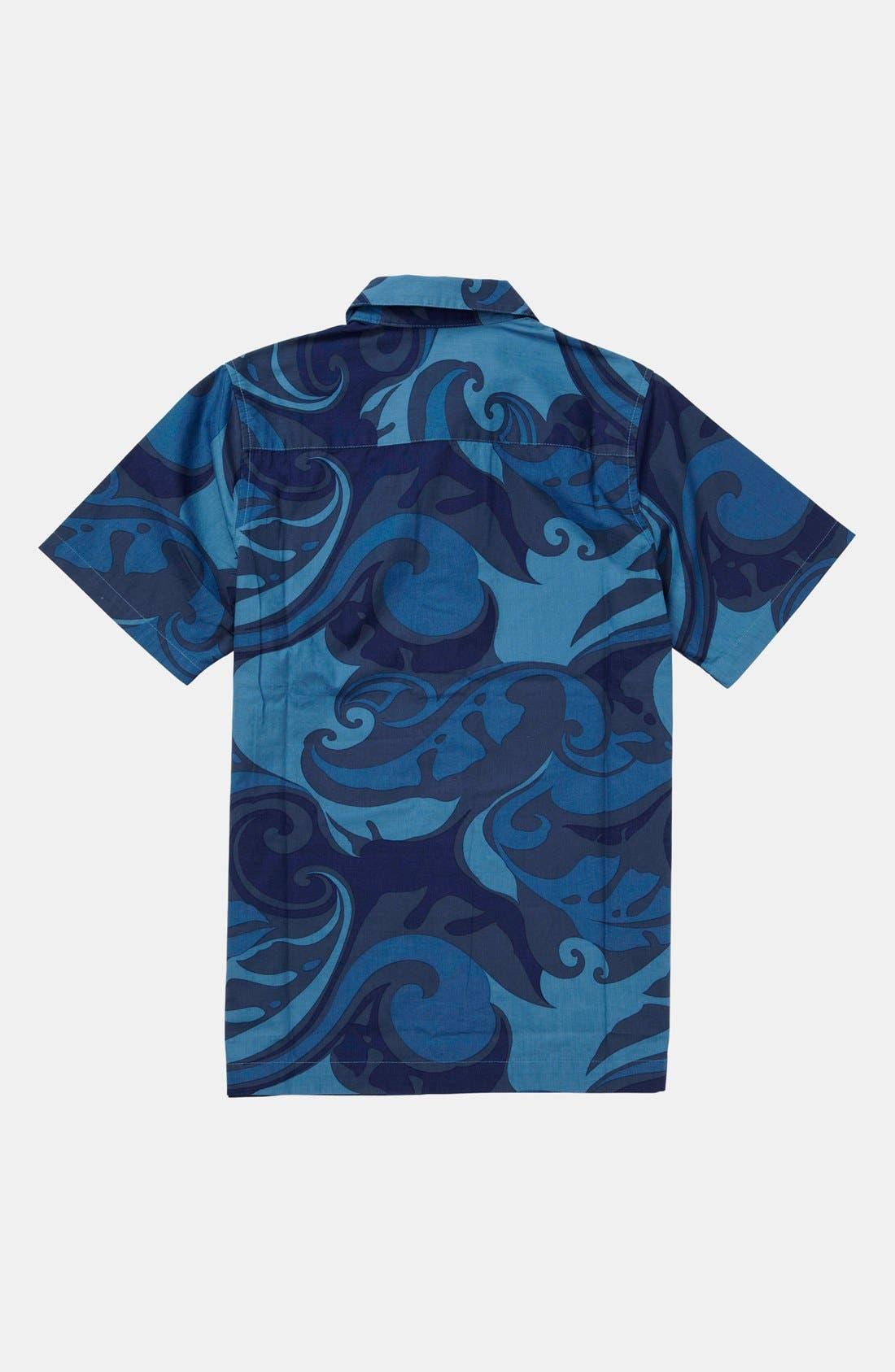 Alternate Image 2  - Quiksilver 'Moku' Shirt (Little Boys & Big Boys)