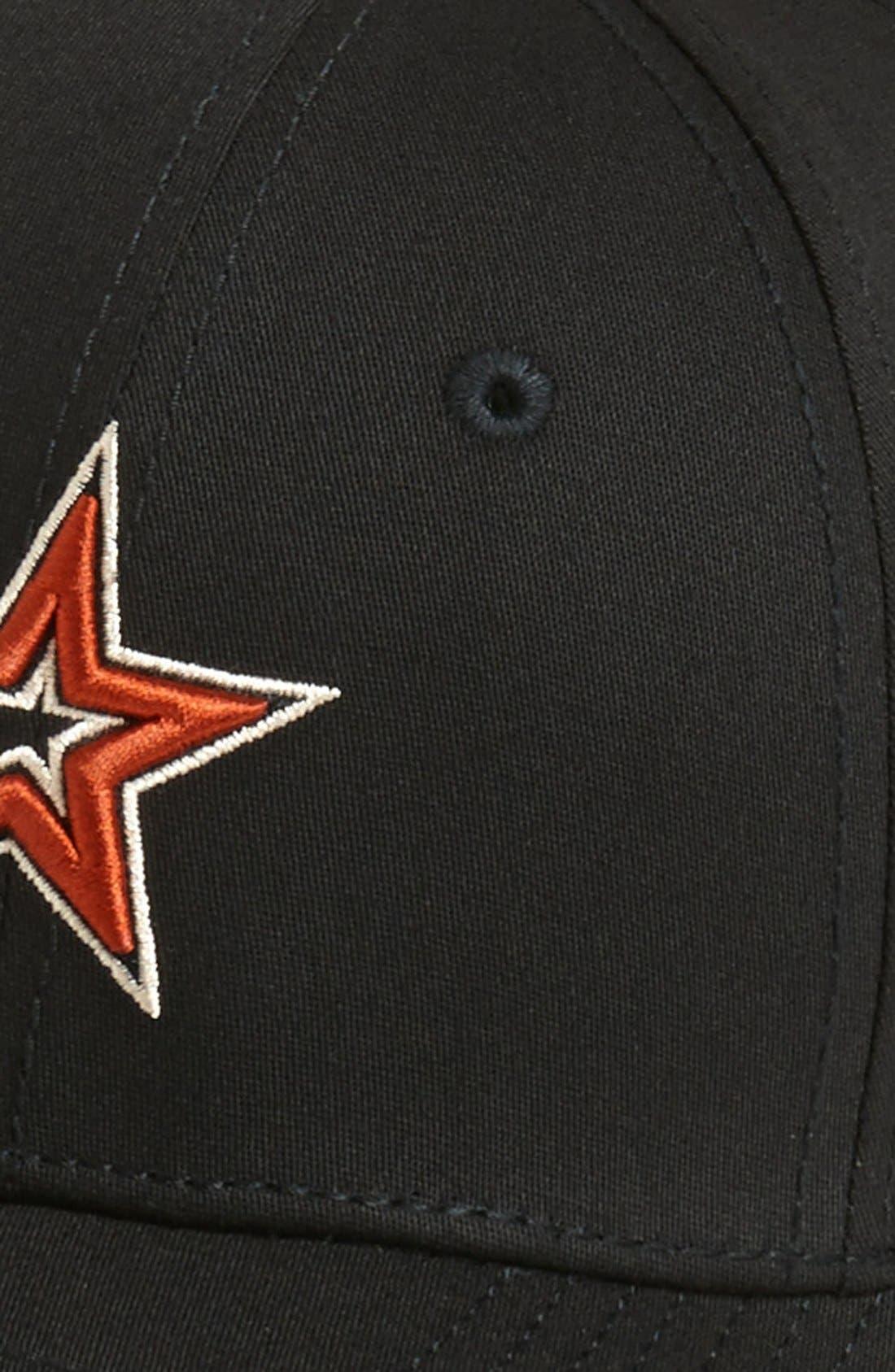 Alternate Image 2  - New Era Cap 'Houston Astros - Tie Breaker' Baseball Cap (Big Boys)