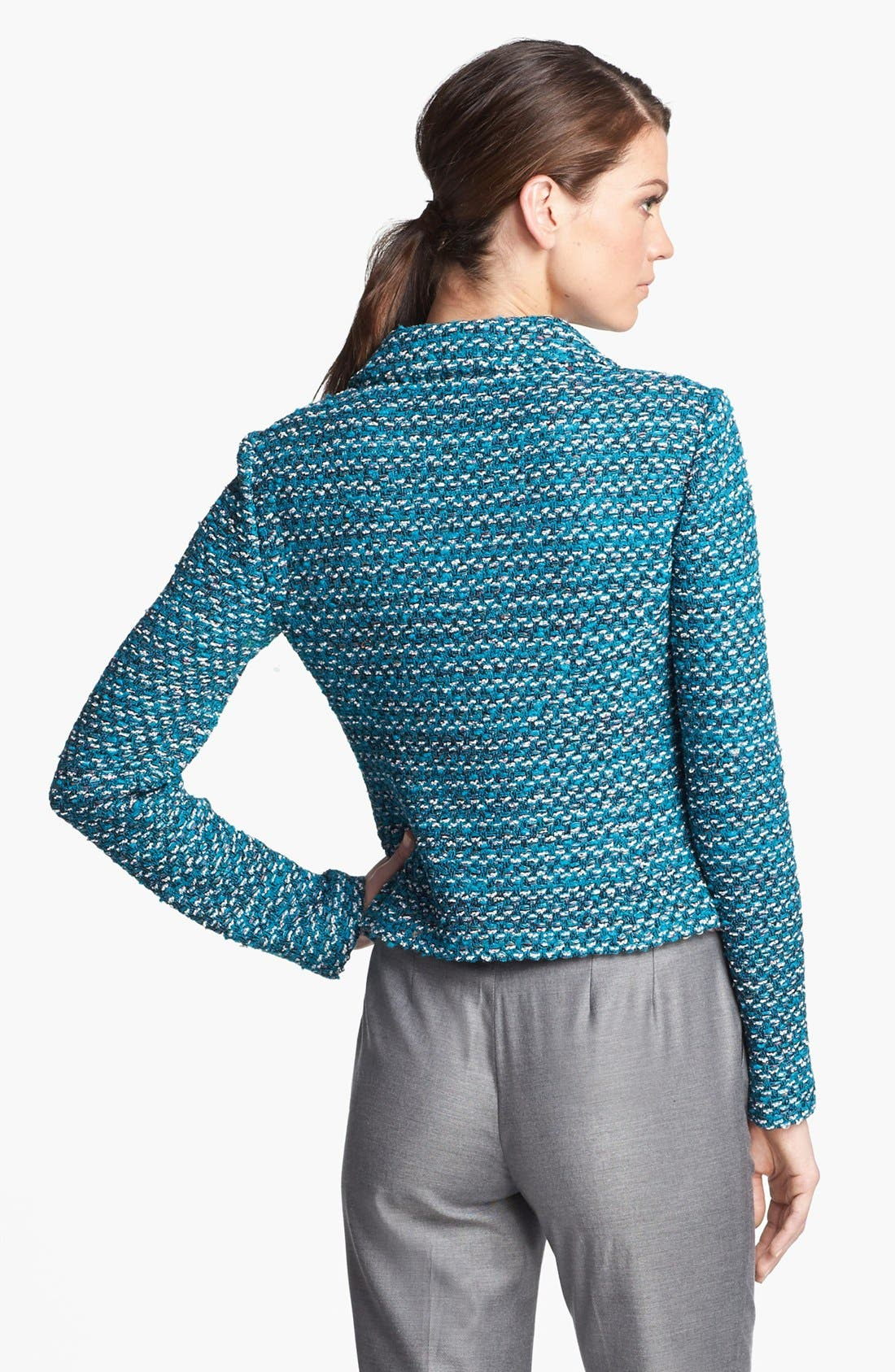 Alternate Image 4  - St. John Collection Notch Collar Tweed Knit Jacket