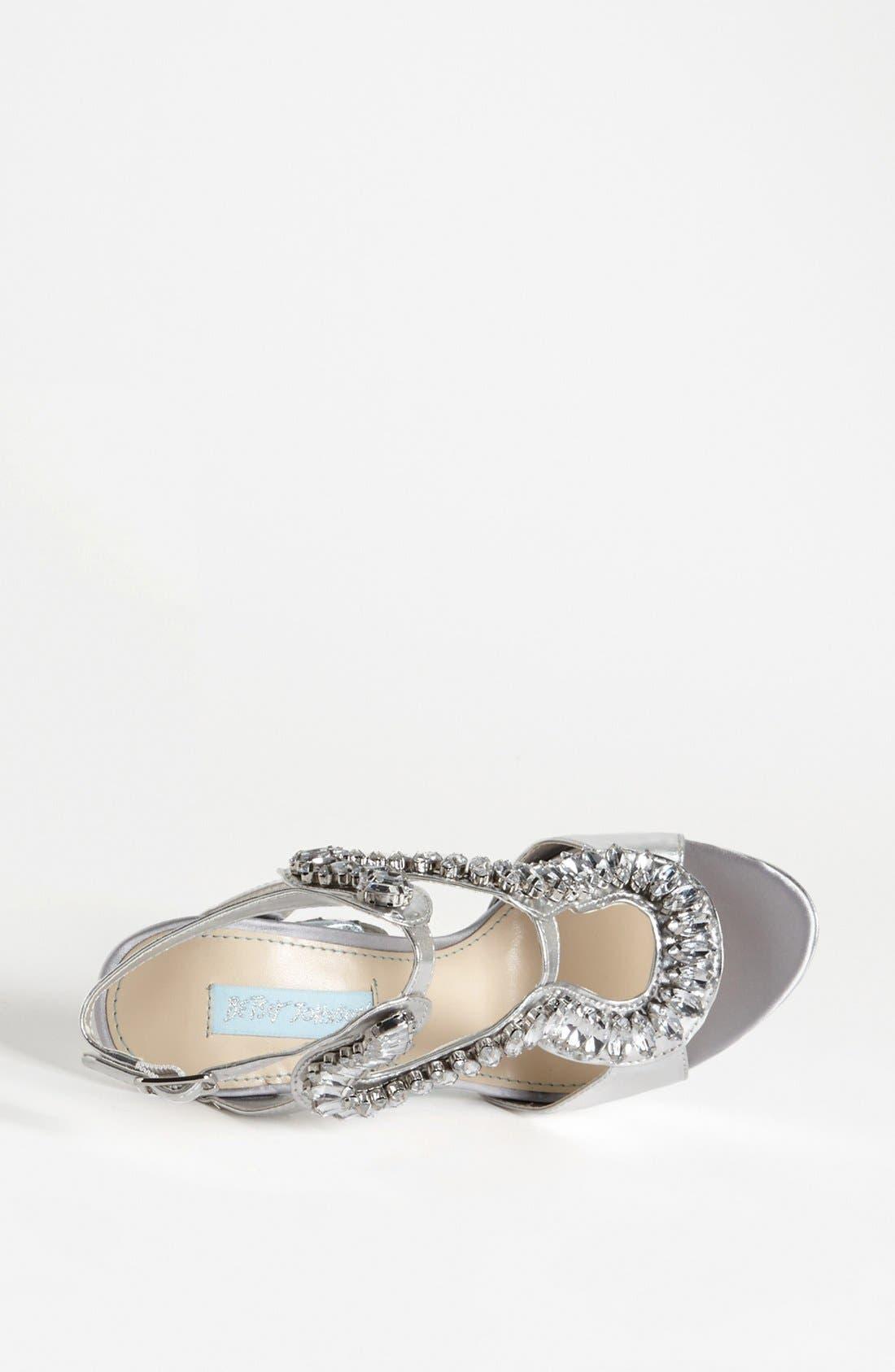 Alternate Image 3  - Blue by Betsey Johnson 'Ring' Sandal