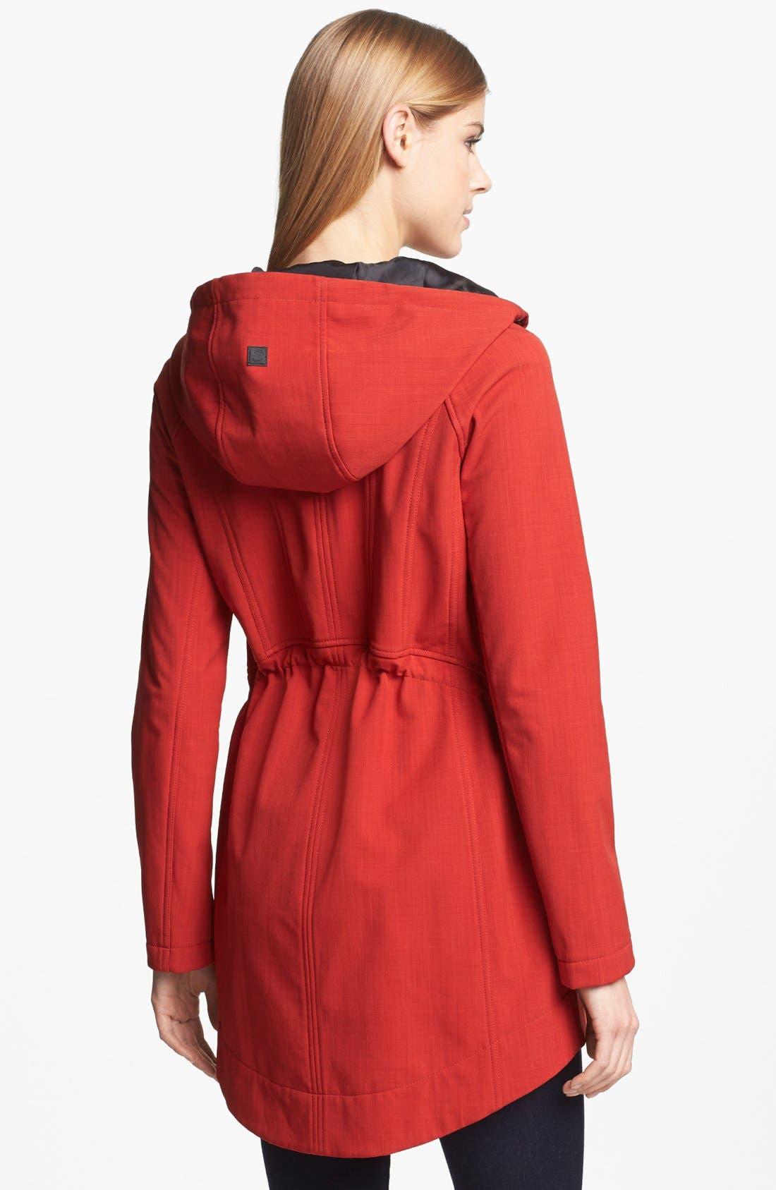 Alternate Image 2  - Steve Madden Hooded Soft Shell Coat