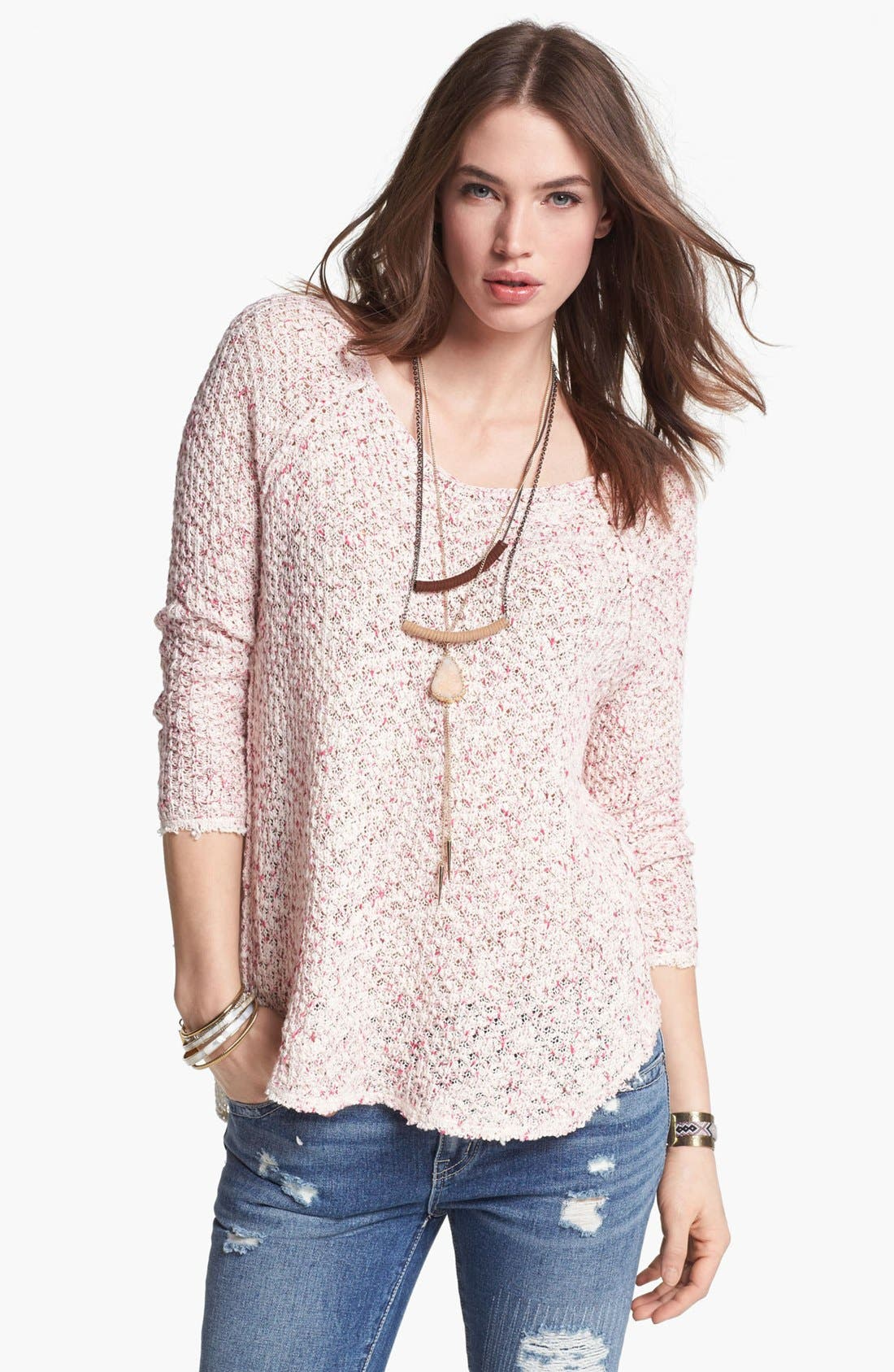 Alternate Image 1 Selected - Free People 'Poppyseed' Pullover