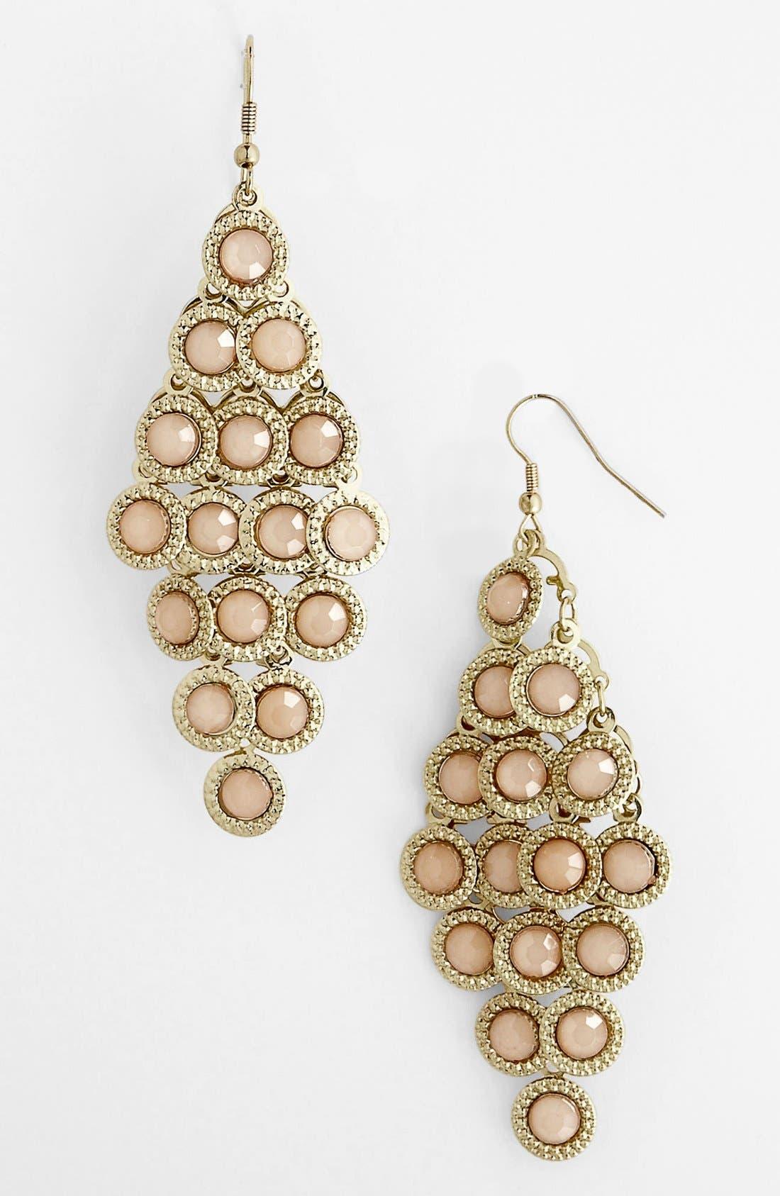 Alternate Image 1 Selected - Carole Chandelier Earrings (Juniors)