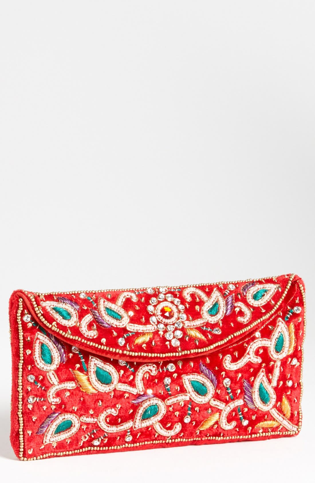 Main Image - Raj Imports Beaded Clutch