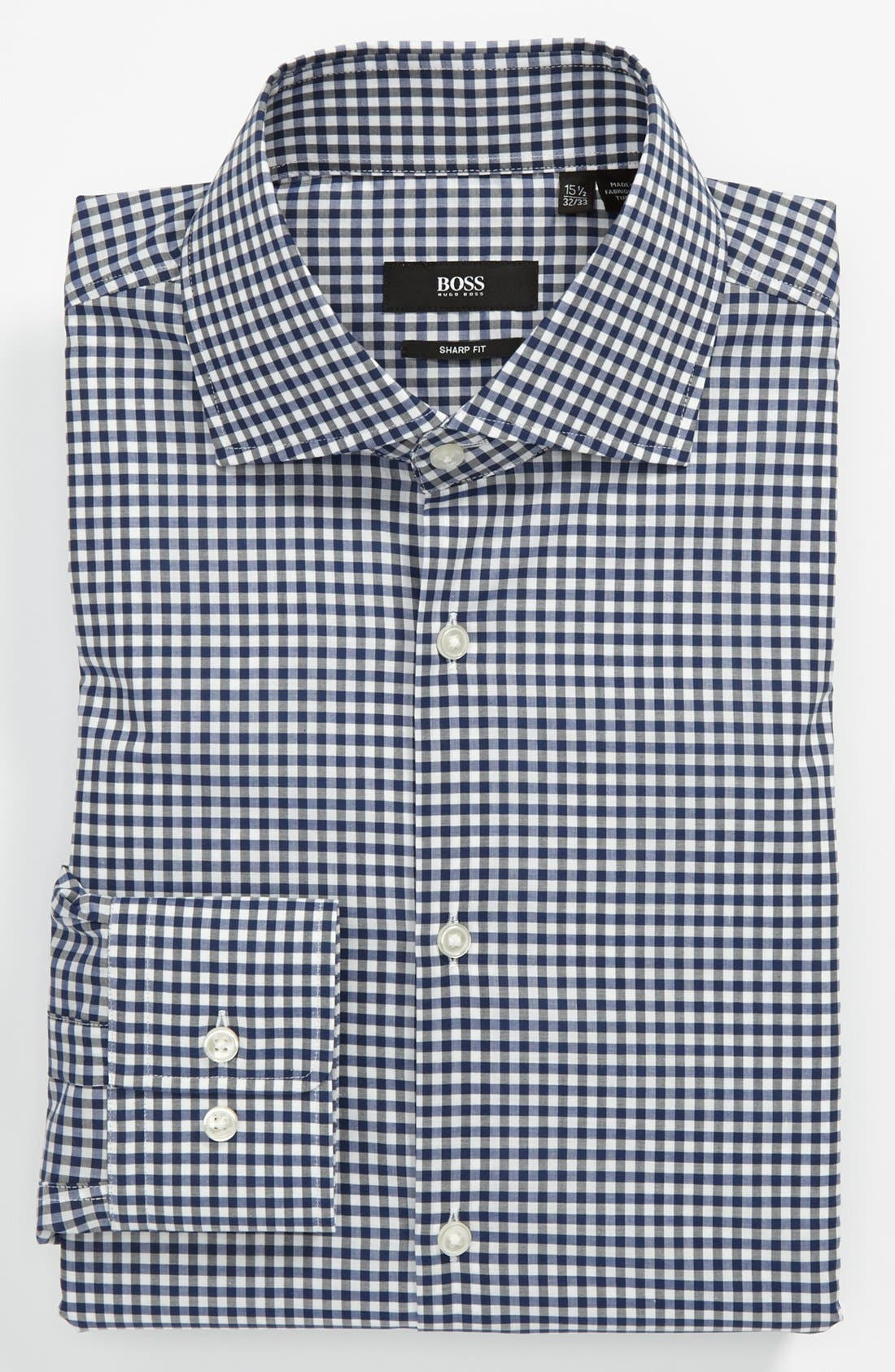 Main Image - BOSS HUGO BOSS Sharp Fit Dress Shirt