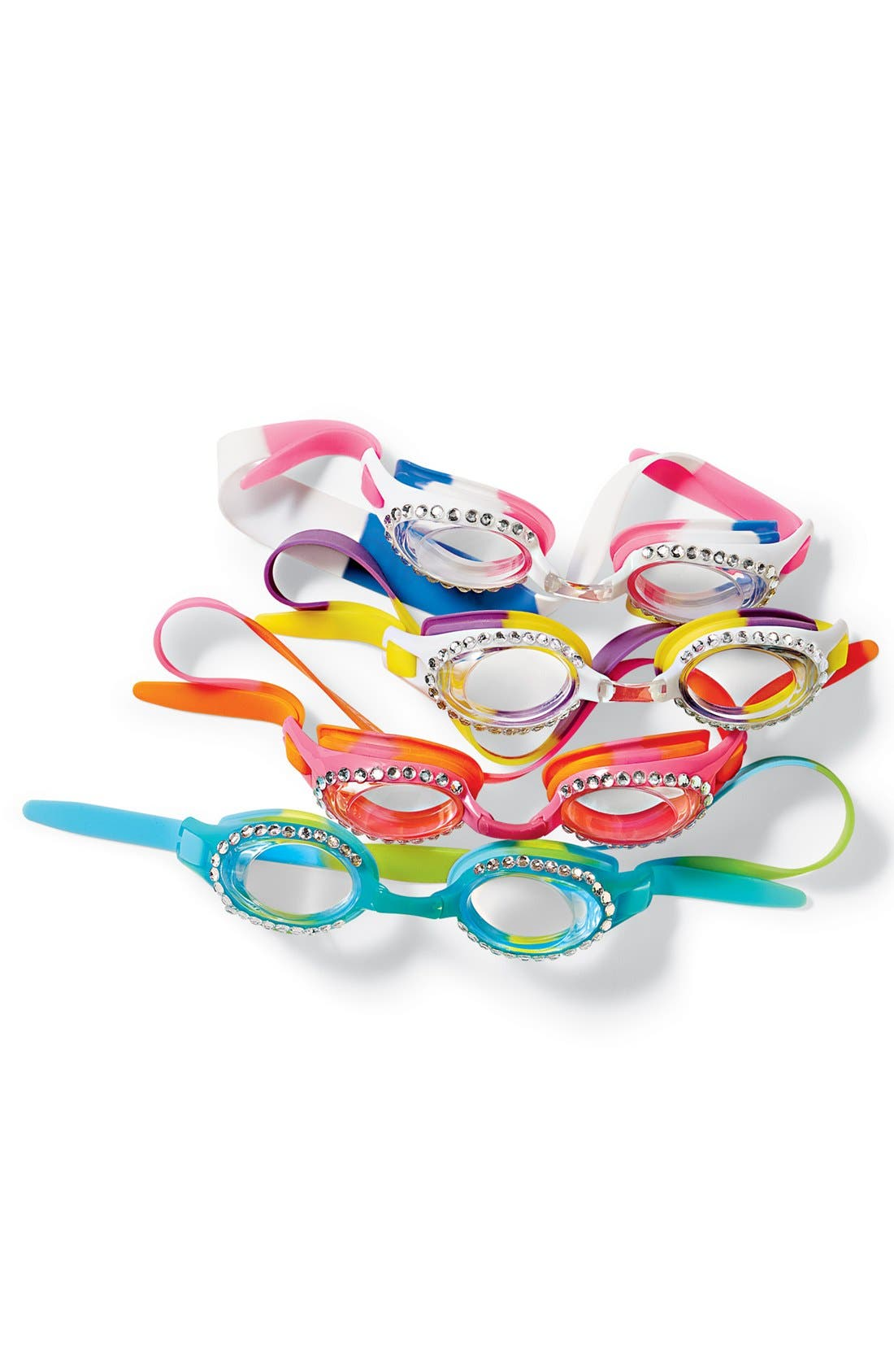 Alternate Image 2  - Bling2o Swim Goggles (Girls)