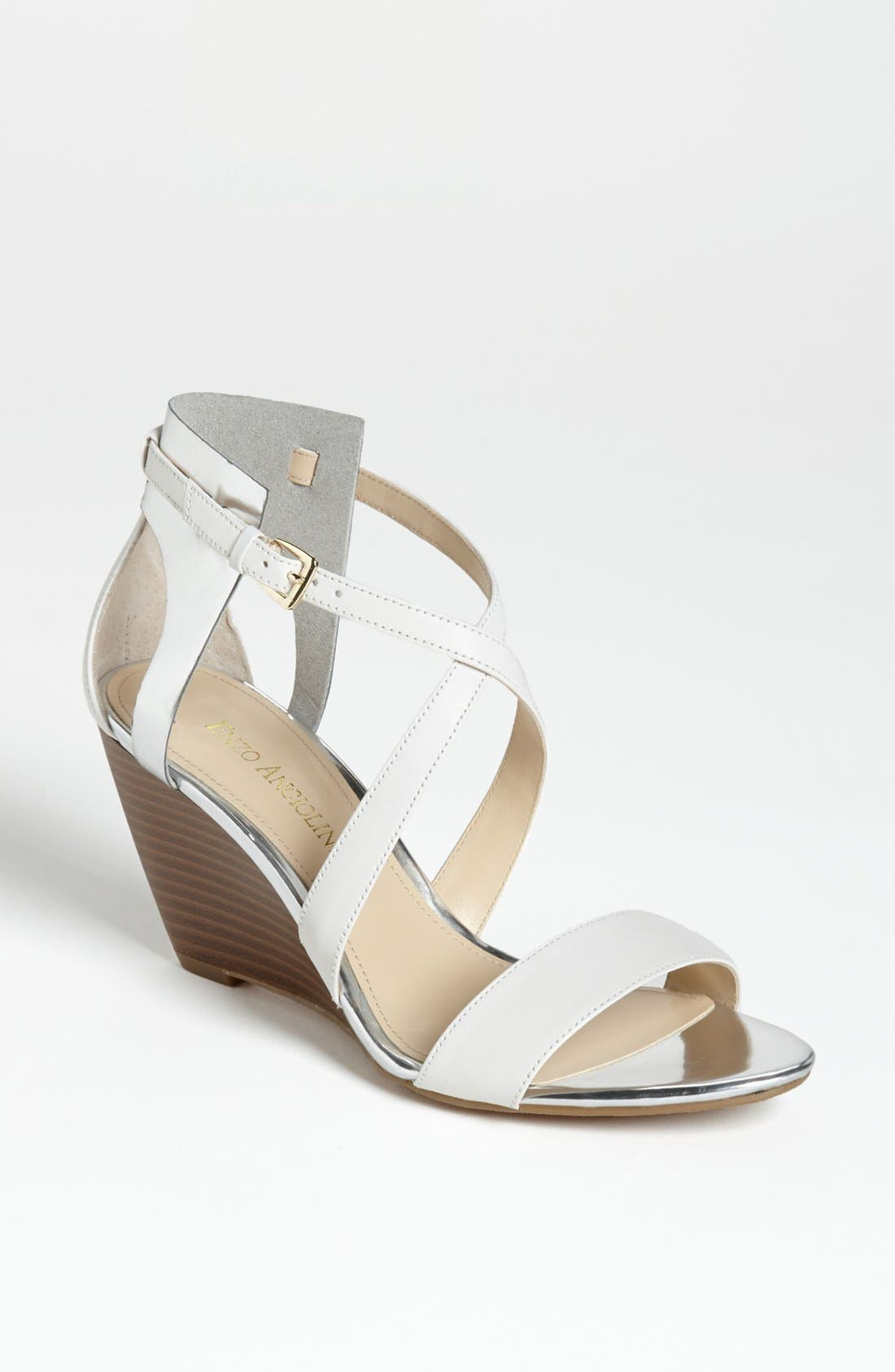 Alternate Image 1 Selected - Enzo Angiolini 'McKinney' Wedge Sandal