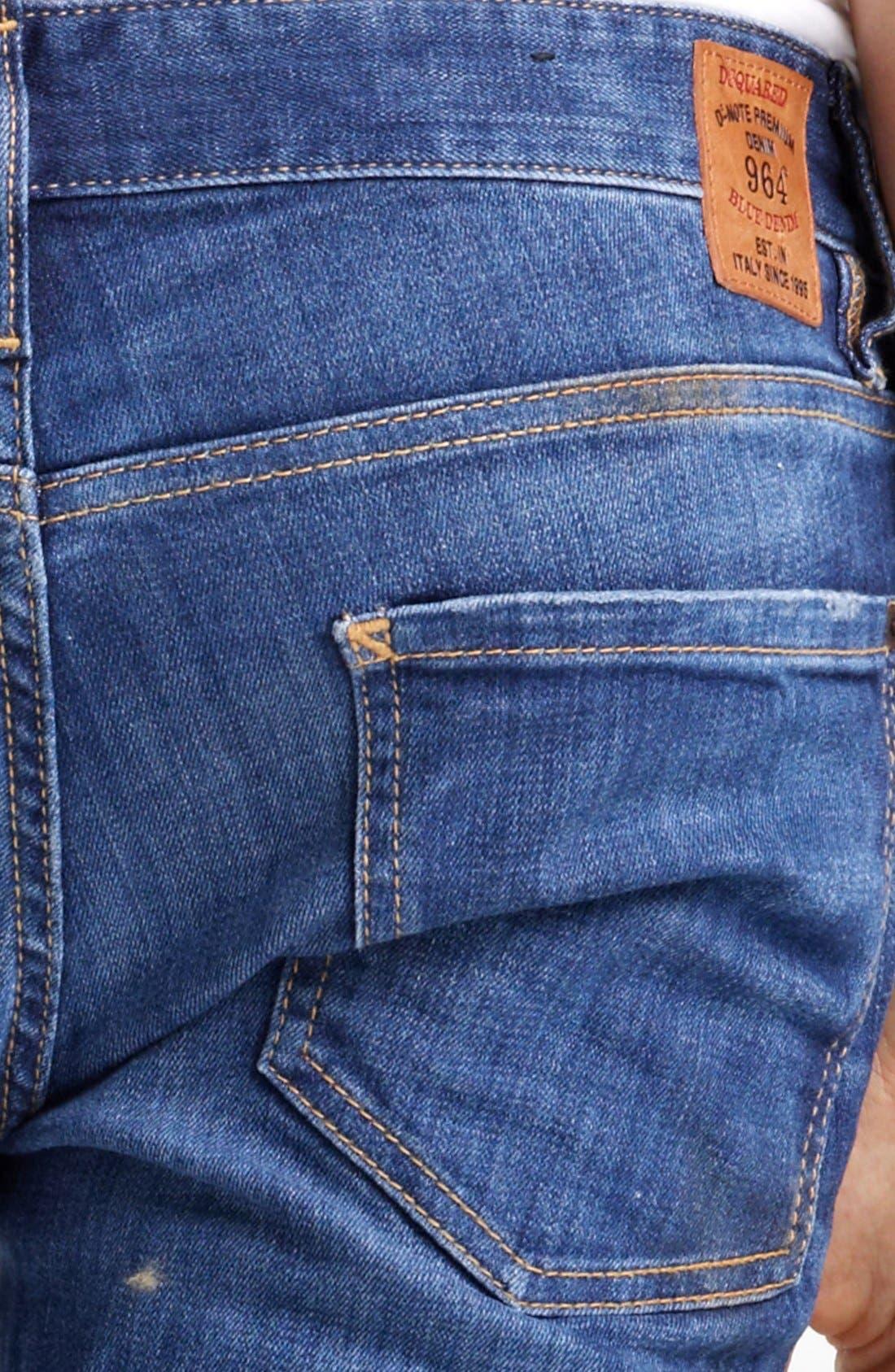 Alternate Image 4  - Dsquared2 Slim Fit Jeans