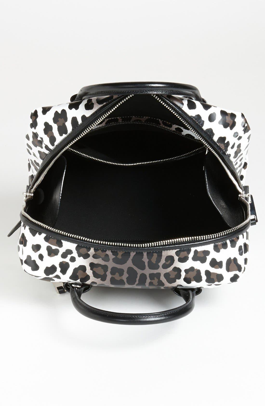 Alternate Image 3  - MARC JACOBS 'Small Antonia - Leopard' Leather Satchel