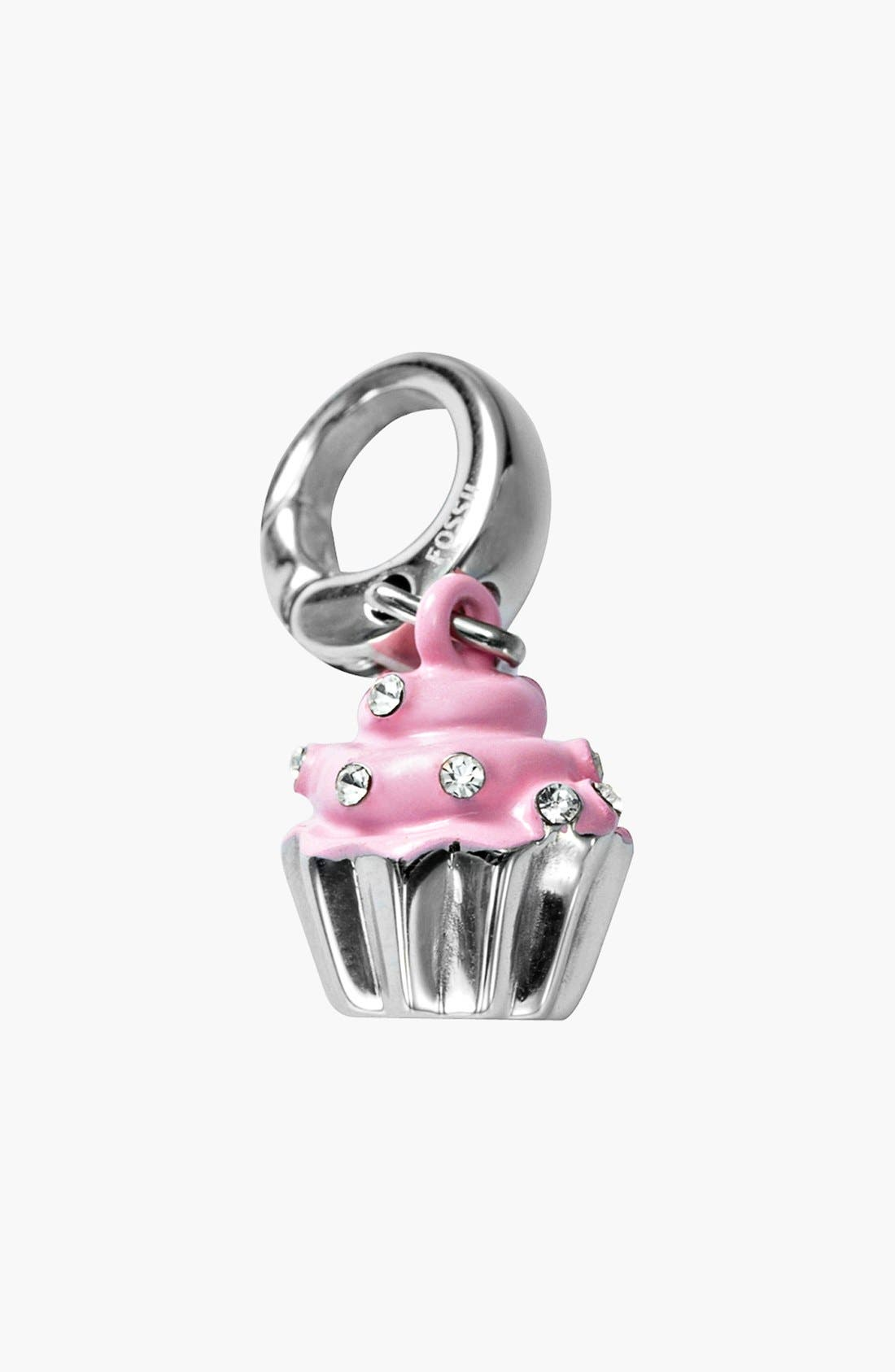 Alternate Image 1 Selected - Fossil Cupcake Dangle Charm