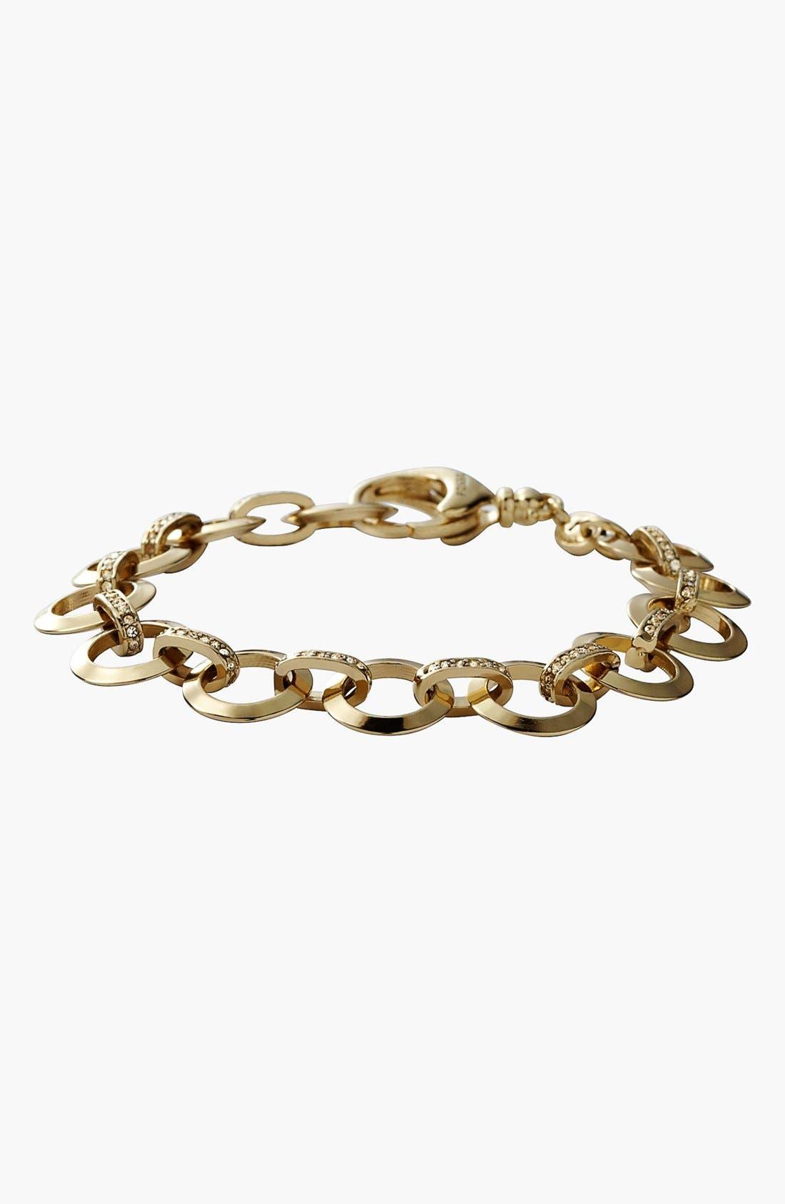 Alternate Image 2  - Fossil Circle Link Charm Bracelet
