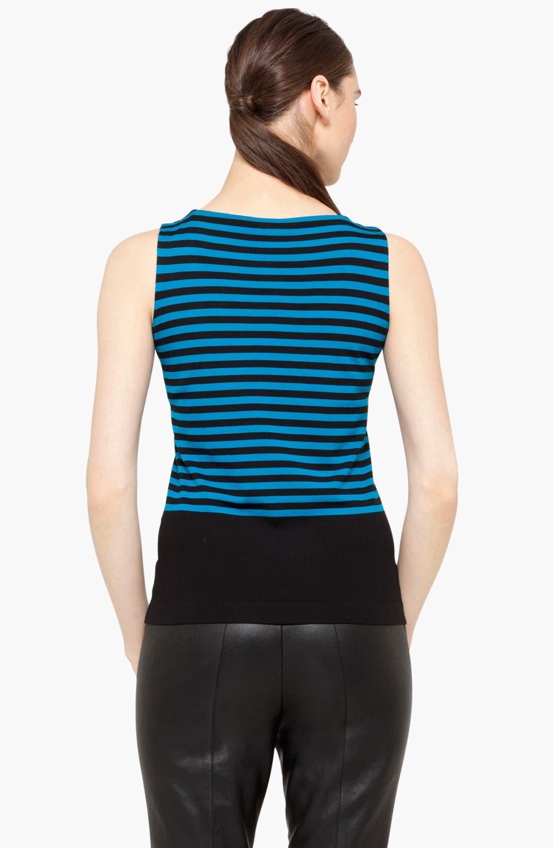 Alternate Image 2  - Akris punto Stripe Wool Tank