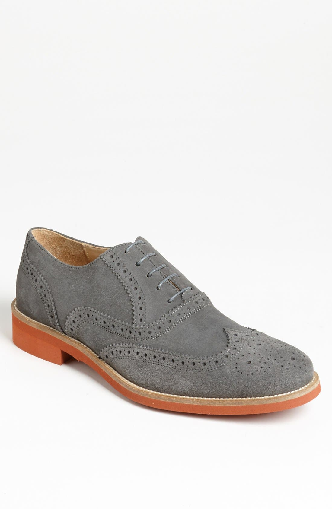 Alternate Image 1 Selected - Thomas Dean Suede Wingtip