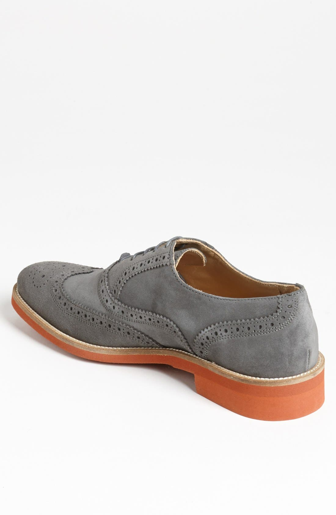 Alternate Image 2  - Thomas Dean Suede Wingtip