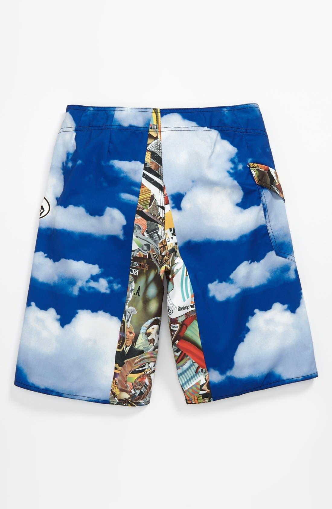 Alternate Image 2  - Volcom 'Barter' Board Shorts (Big Boys)