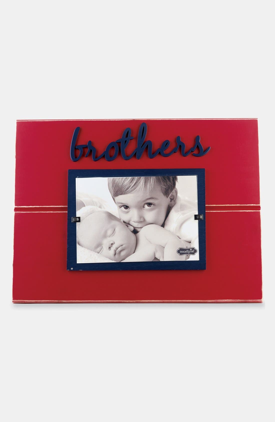Alternate Image 1 Selected - Mud Pie 'Brothers' Picture Frame