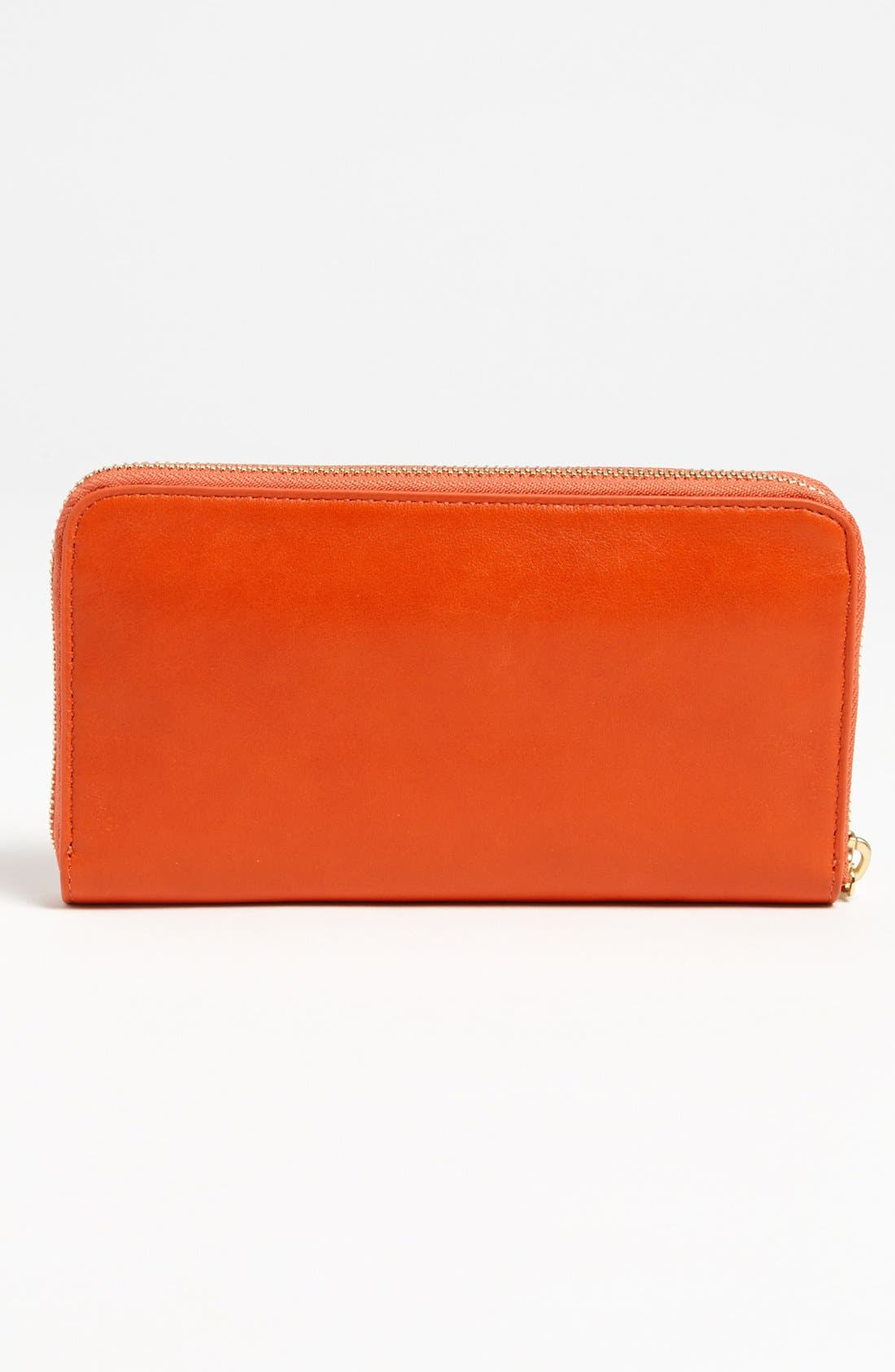 Alternate Image 3  - Tory Burch 'Bow' Leather Zip Wallet
