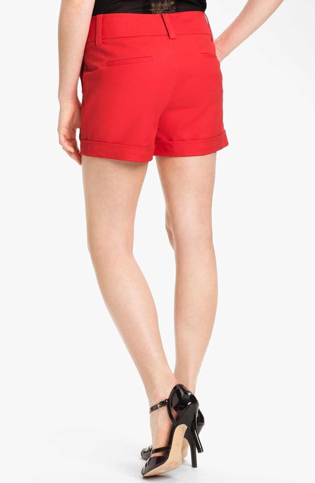 Alternate Image 2  - Vince Camuto Cuff Shorts (Regular & Petite)