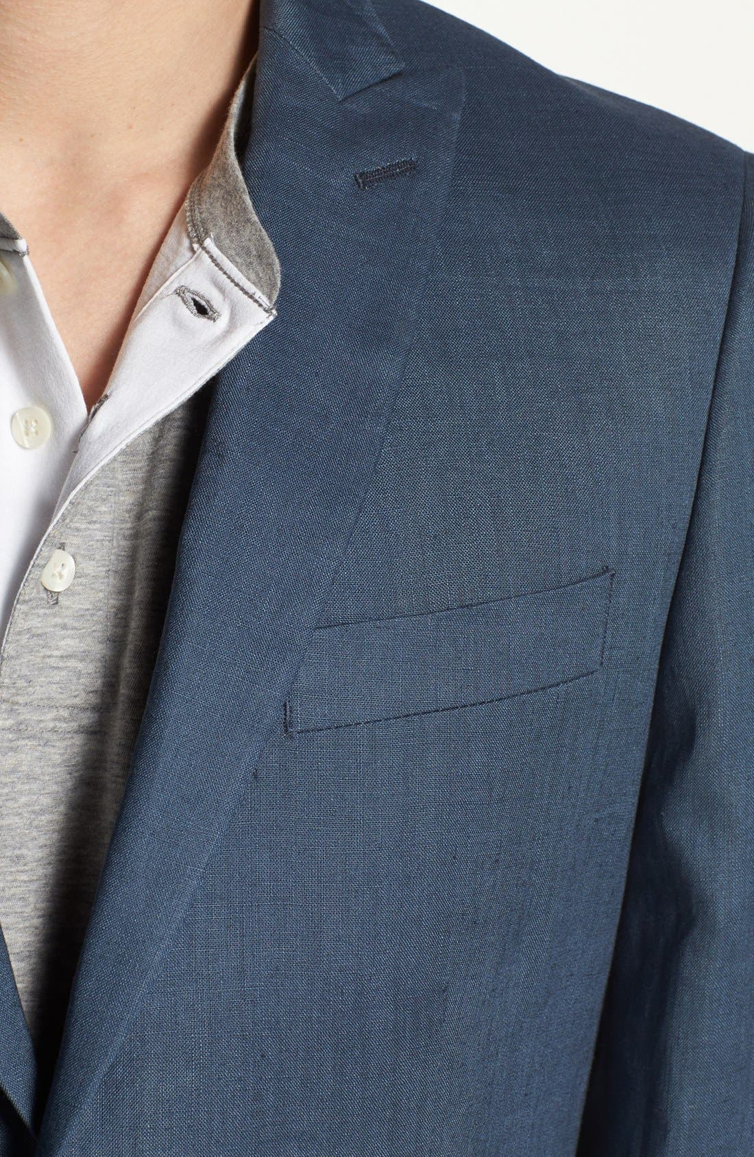 Alternate Image 3  - John Varvatos Star USA Red Label Linen Blazer