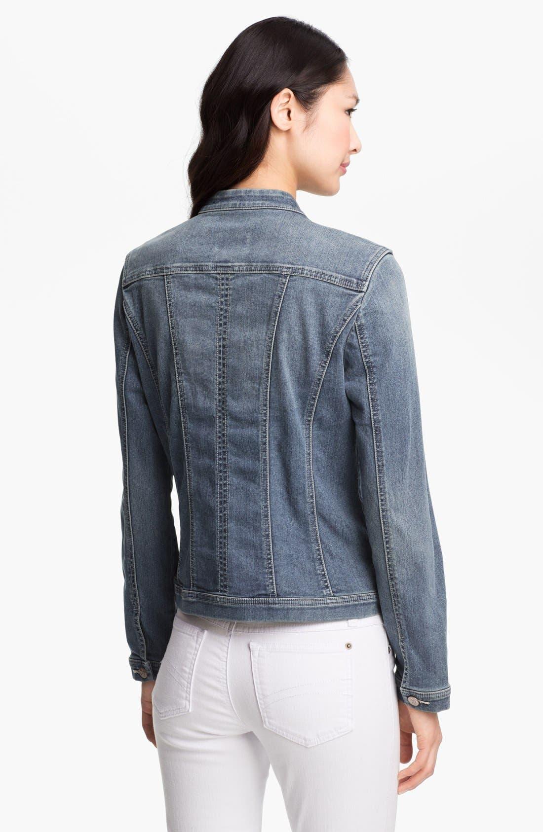Alternate Image 2  - NYDJ 'Penny' Denim Jacket