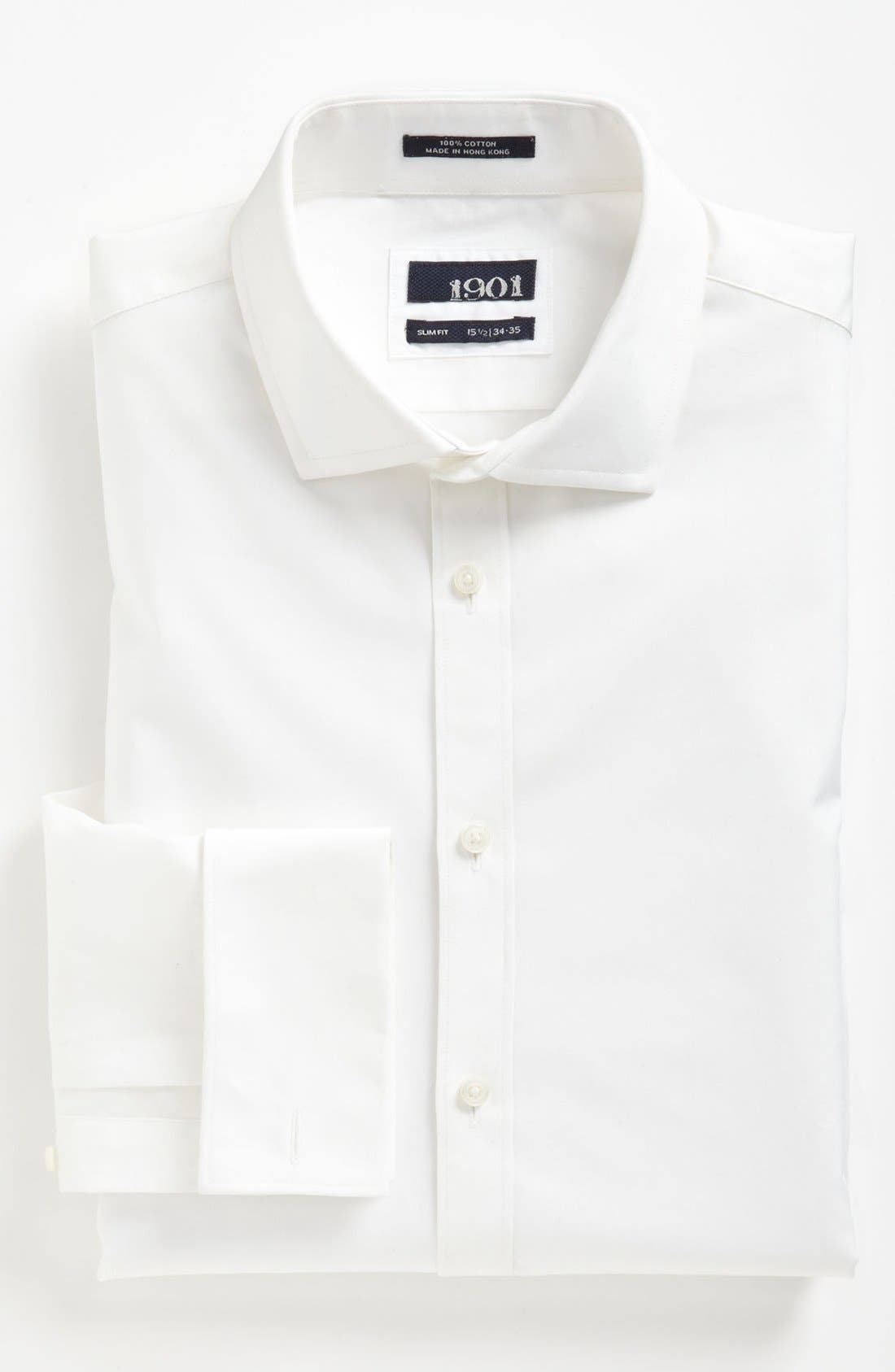 Main Image - 1901 Dress Shirt & Gitman Tie