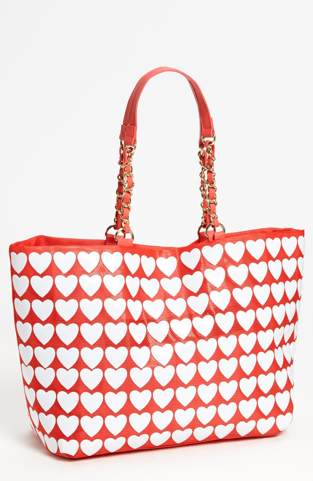 Alternate Image 1 Selected - Betsey Johnson 'Hearts' Tote