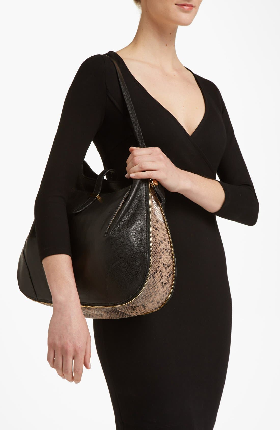 Alternate Image 2  - Tory Burch 'Clay - Classic' Leather Hobo
