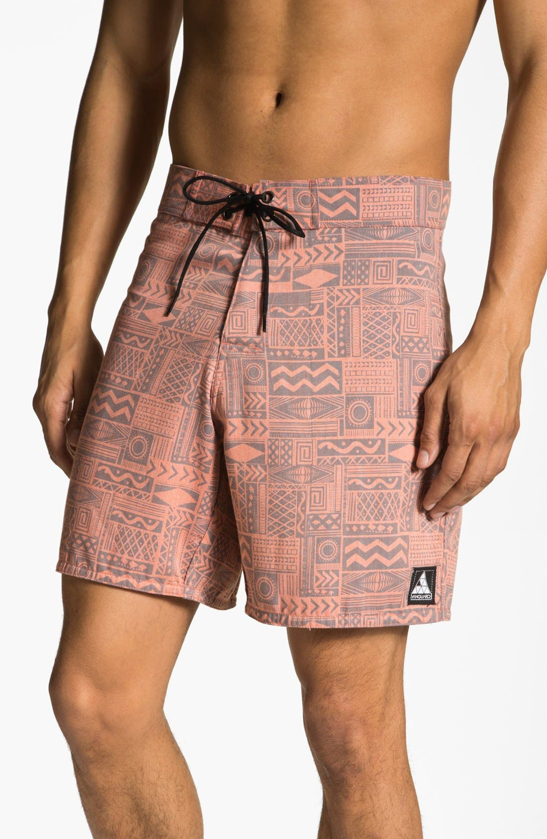 Main Image - Vanguard 'Sonic Jungle' Board Shorts