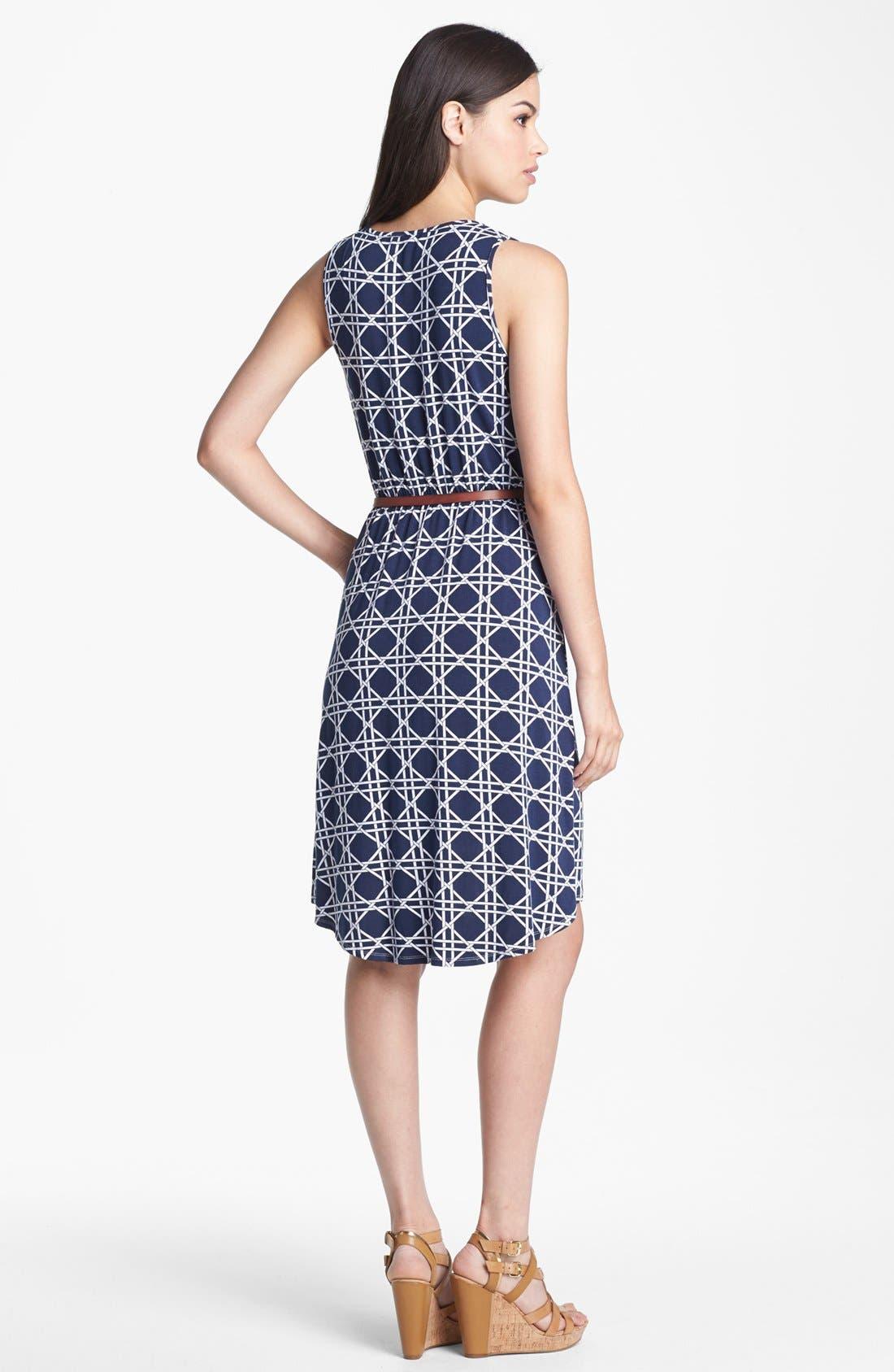 Alternate Image 2  - Tart Print Jersey Faux Wrap Dress