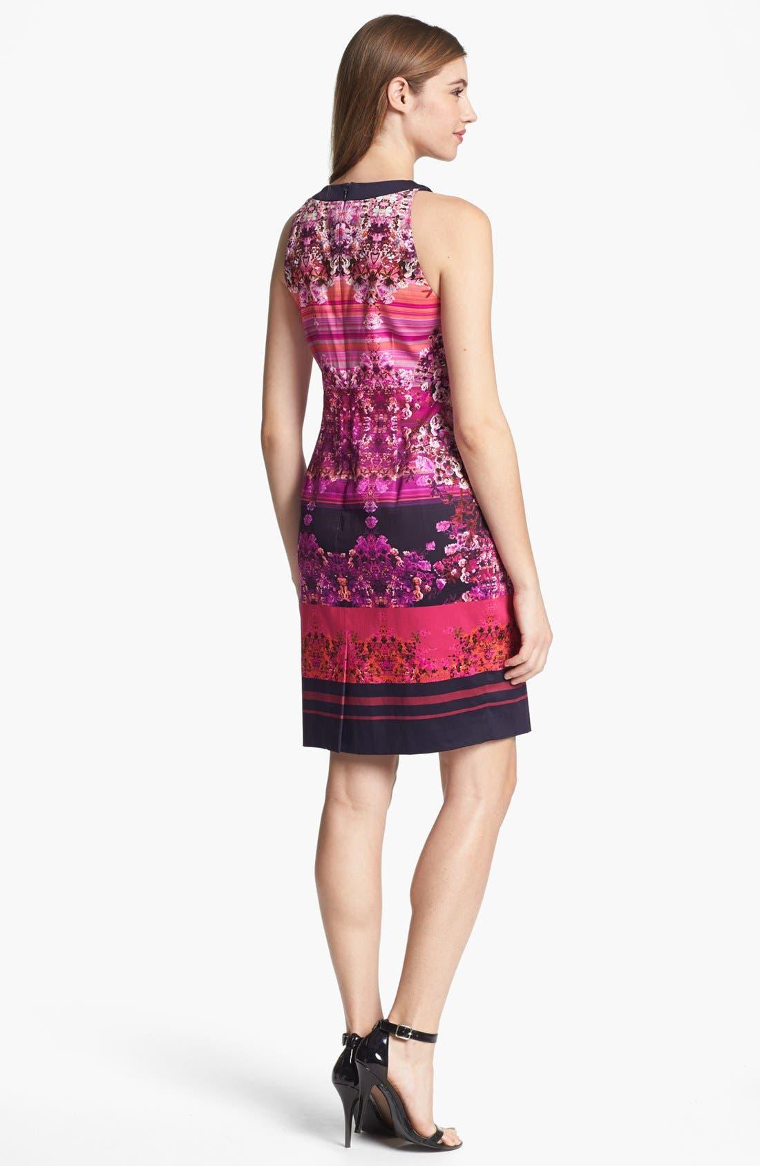 Alternate Image 2  - Adrianna Papell Digital Print Dress