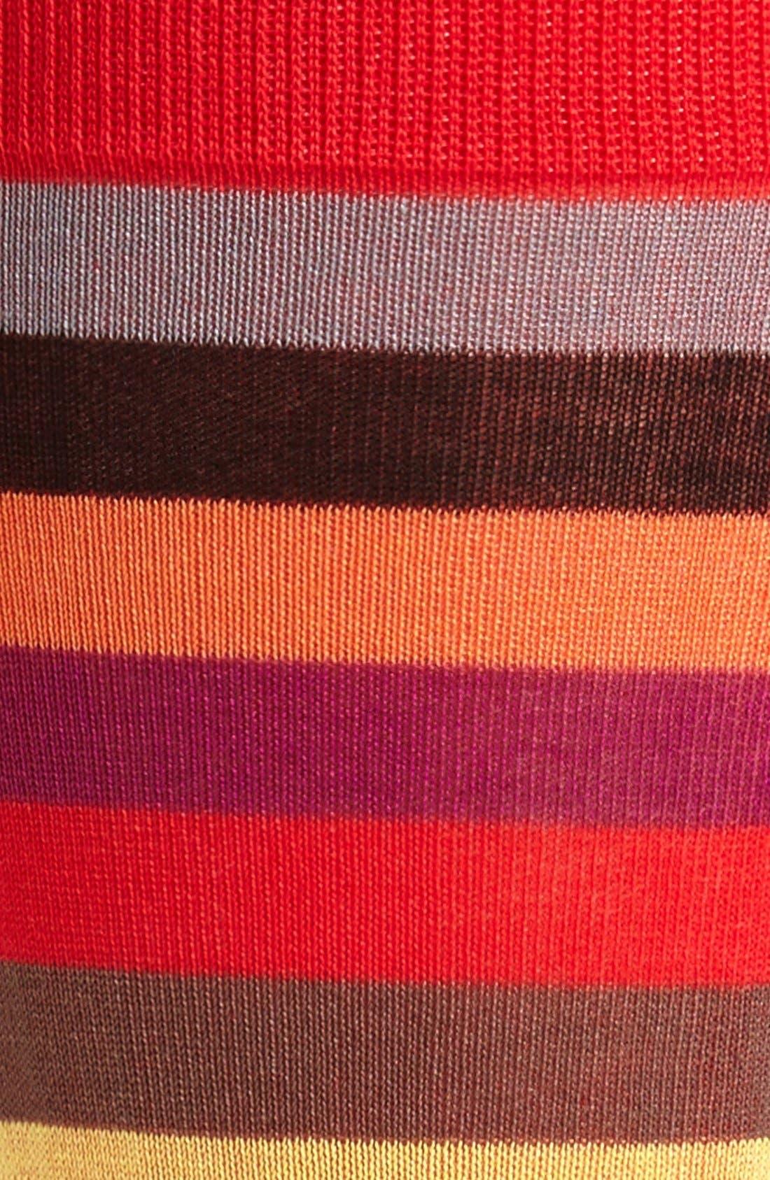 Alternate Image 2  - Hot Sox Stripe Socks