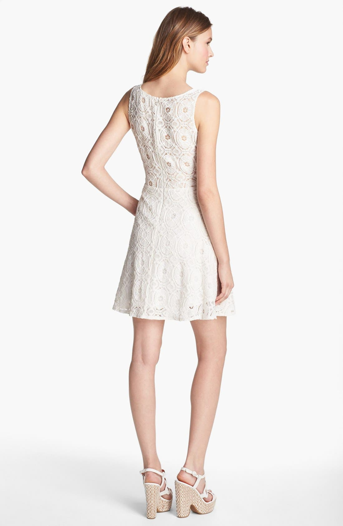 Alternate Image 2  - BB Dakota Fit & Flare Dress